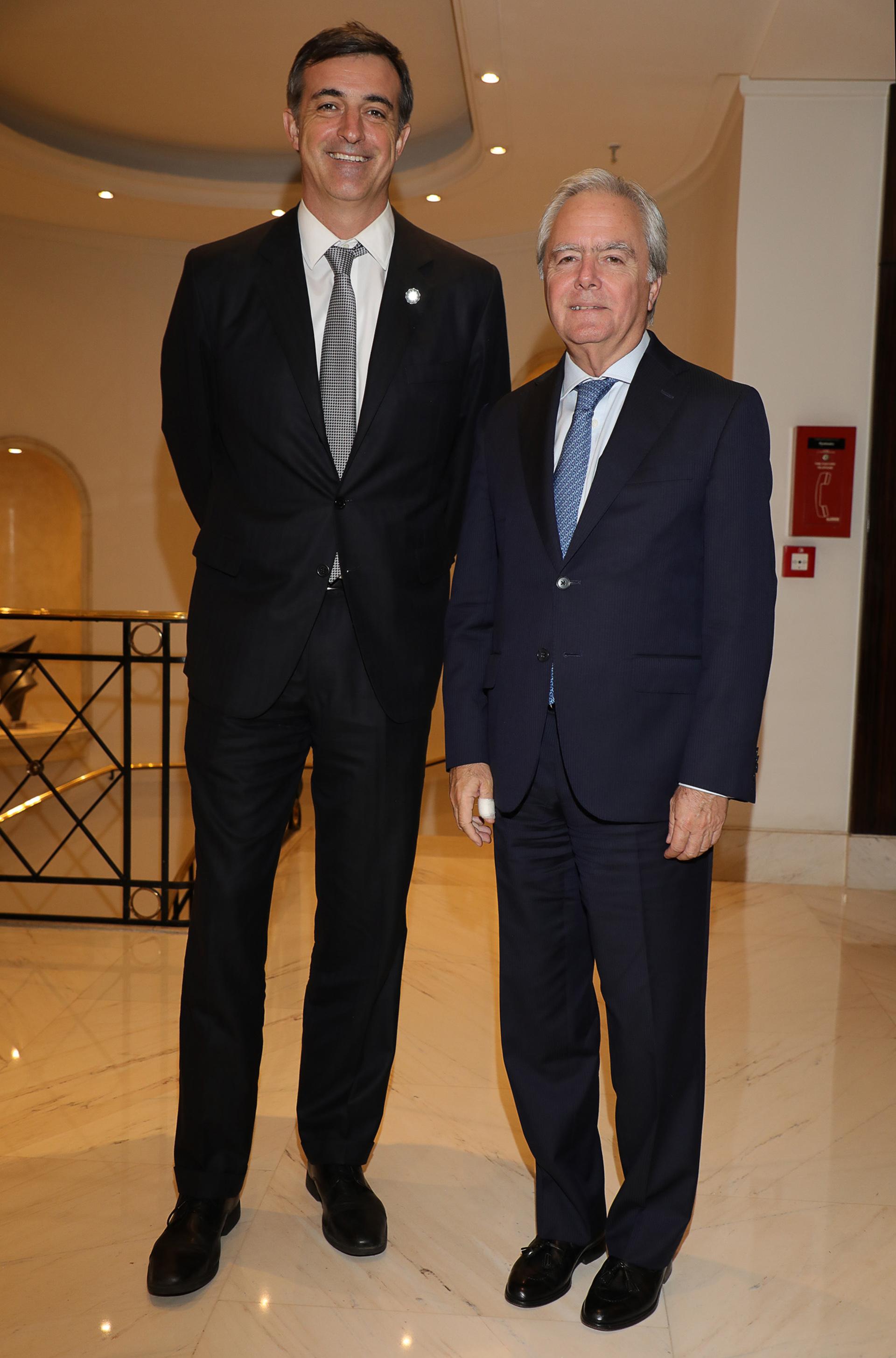 Los senadores Esteban Bullrich y Federico Pinedo