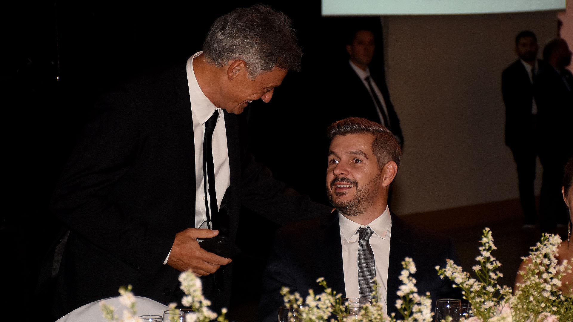 Francisco Cabrera y Marcos Peña