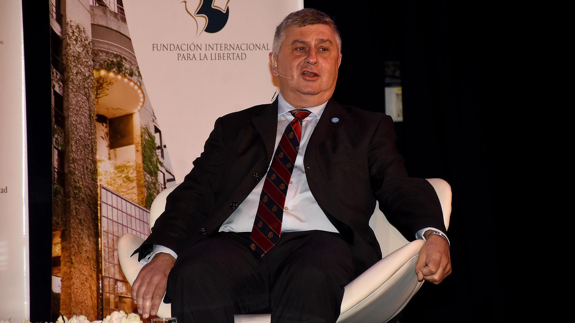 Gerardo Bongiovanni, director de la Fundación Internacional para la Libertad (FIL)