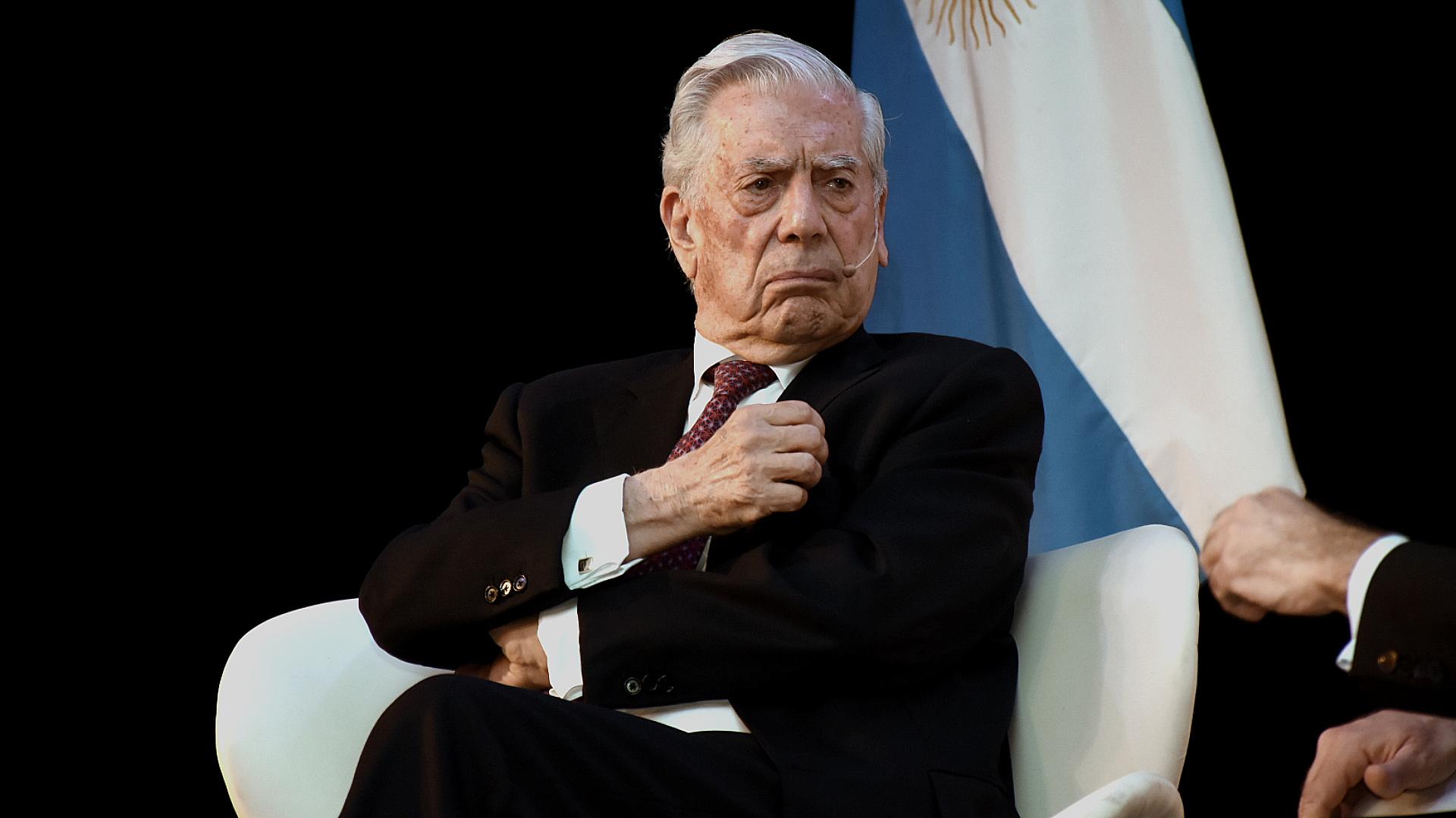 El Premio Nobel de Literatura, Mario Vargas Llosa