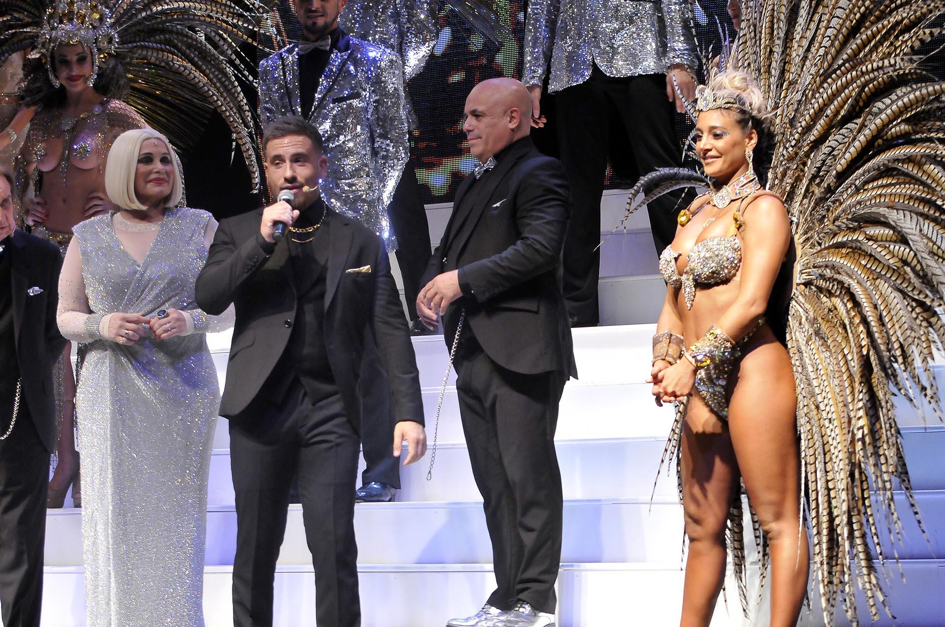 Carmen Barbieri, Fede Bal, el Bicho Gómez y Sol Pérez