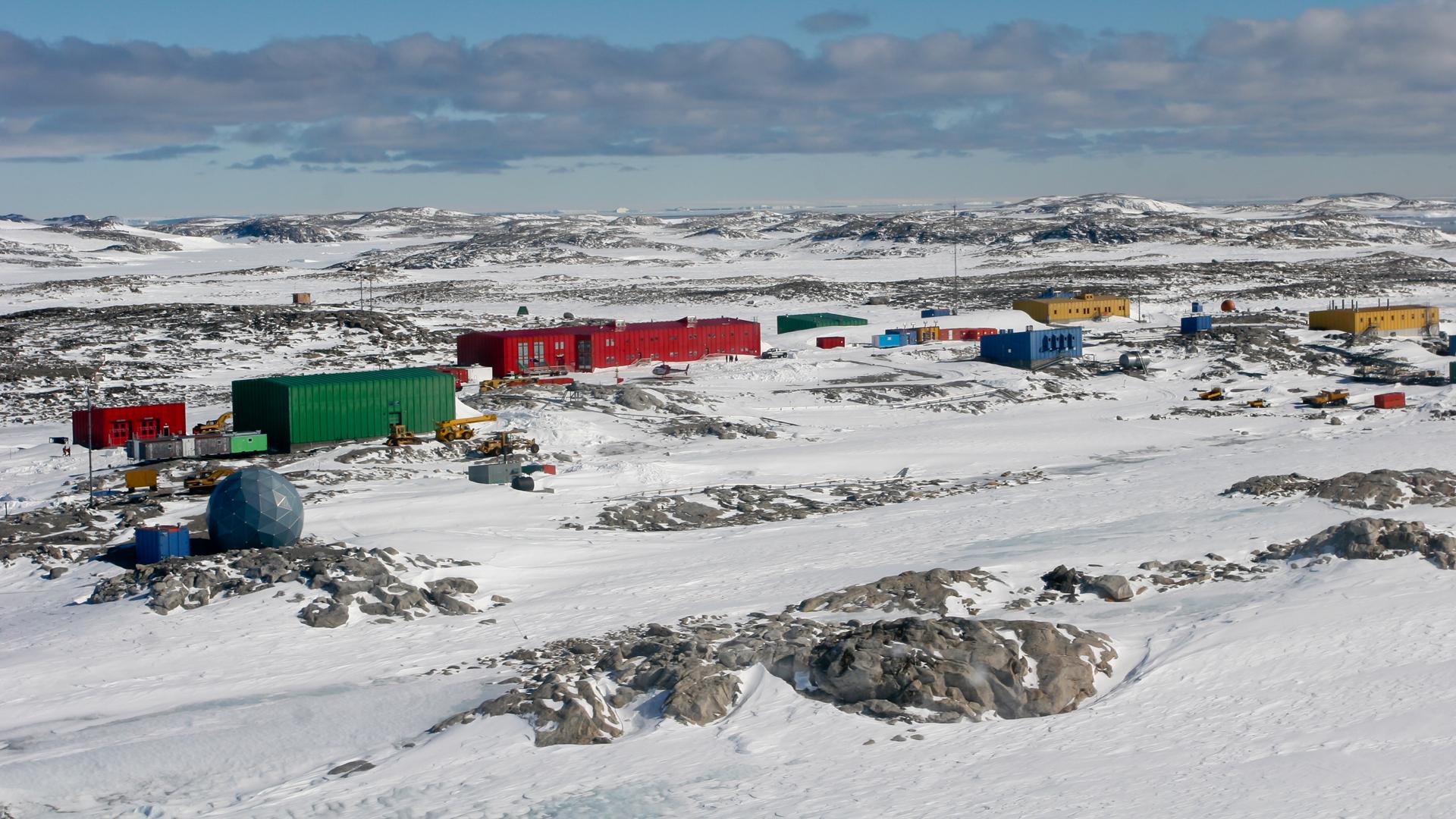 La Estación Casey pertenece a Australia y es donde los científicos hicieron base para sus investigaciones
