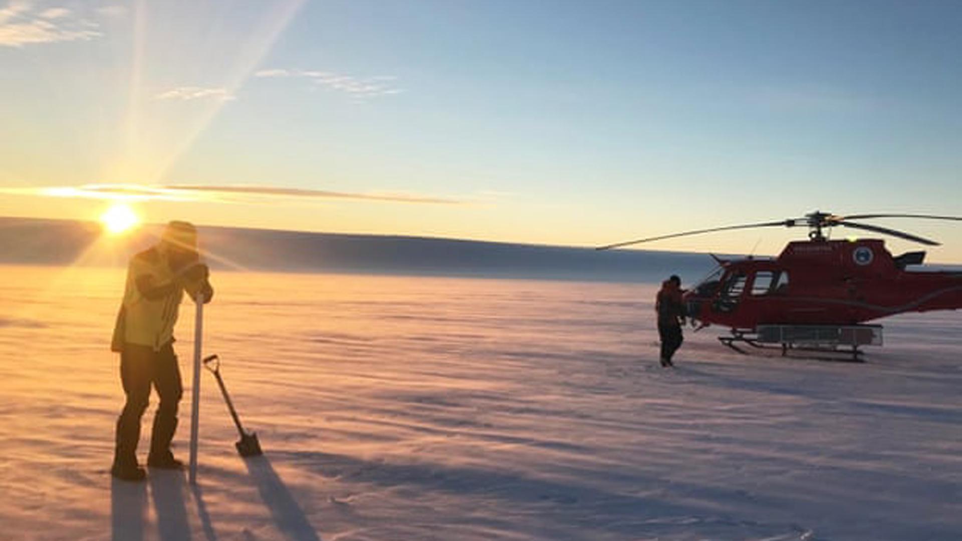 El glaciar Totten tiene 30 km de ancho y un grosor de hasta dos kilómetros, y tiene el potencial de elevar los niveles del mar en siete metros