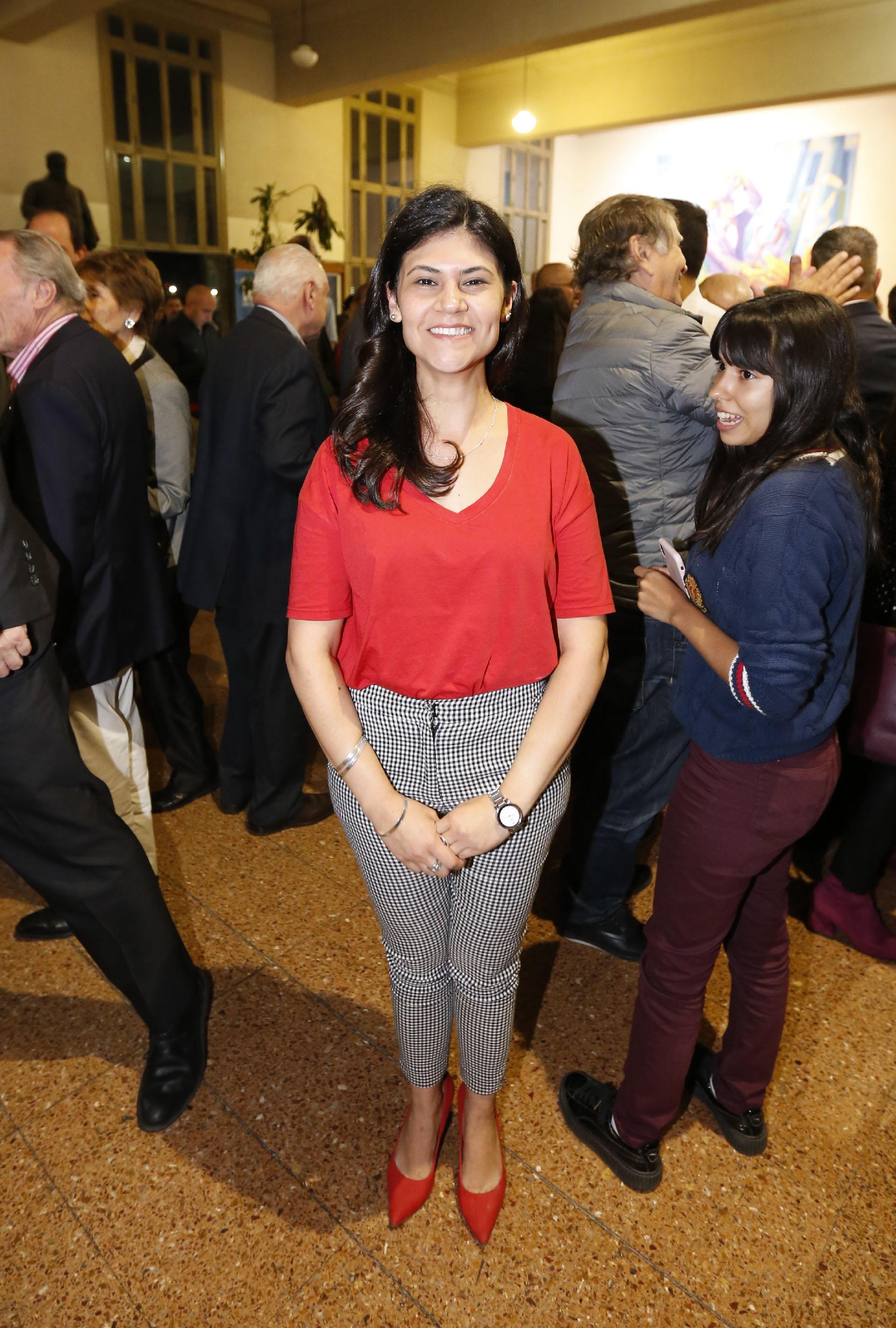 Luciana Rached, presidenta de la Juventud Radical