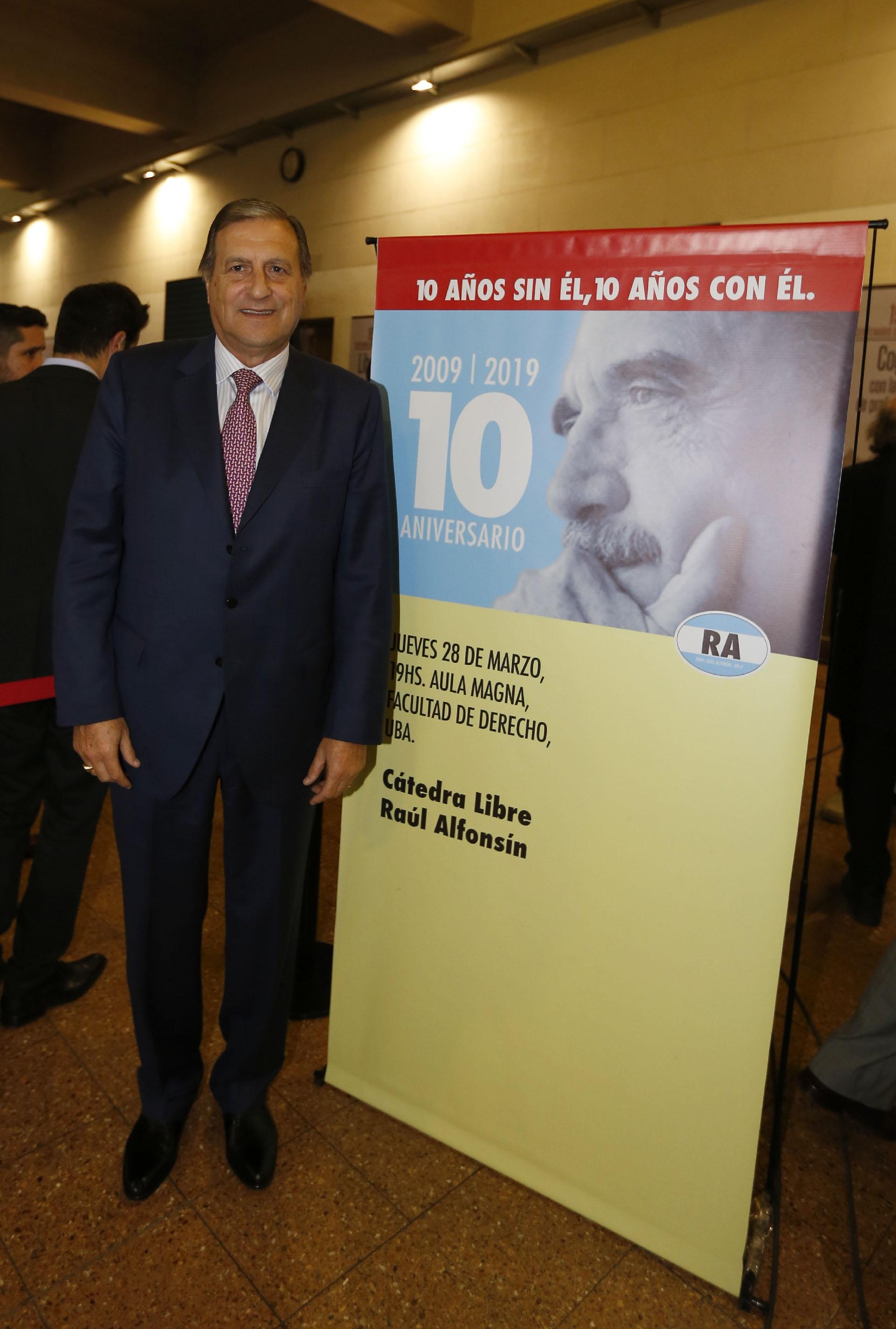 Angel Rozas, senador y vicepresidente de la UCR