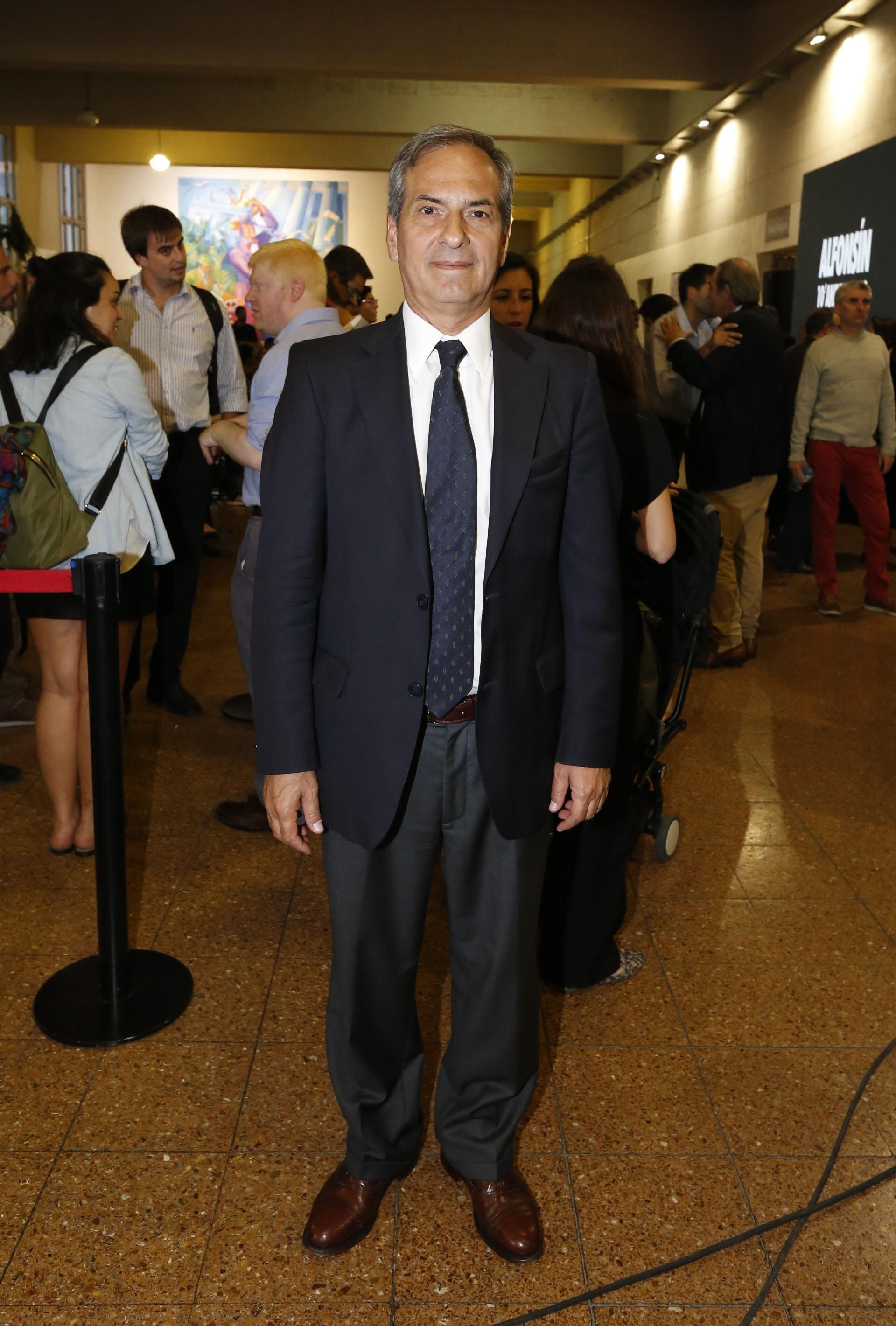 Marcelo Bassani, ex diputado y uno de los organizadores del homenaje