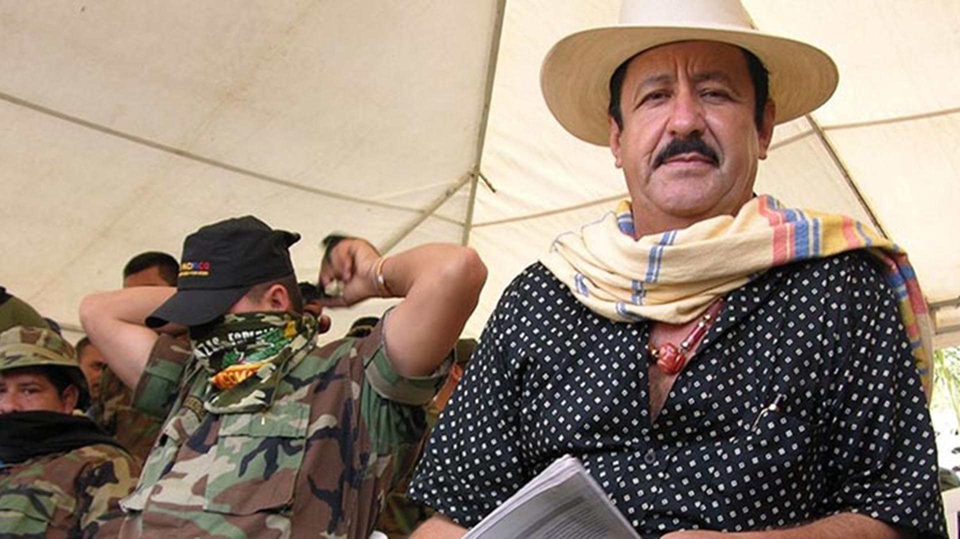 Hernán Giraldo, cabecilla del bloque Resistencia Tayrona de las Autodefensas Unidad de Colombia, era conocido como el 'Taladro' por sus abusos sexuales. (Foto El Informador)