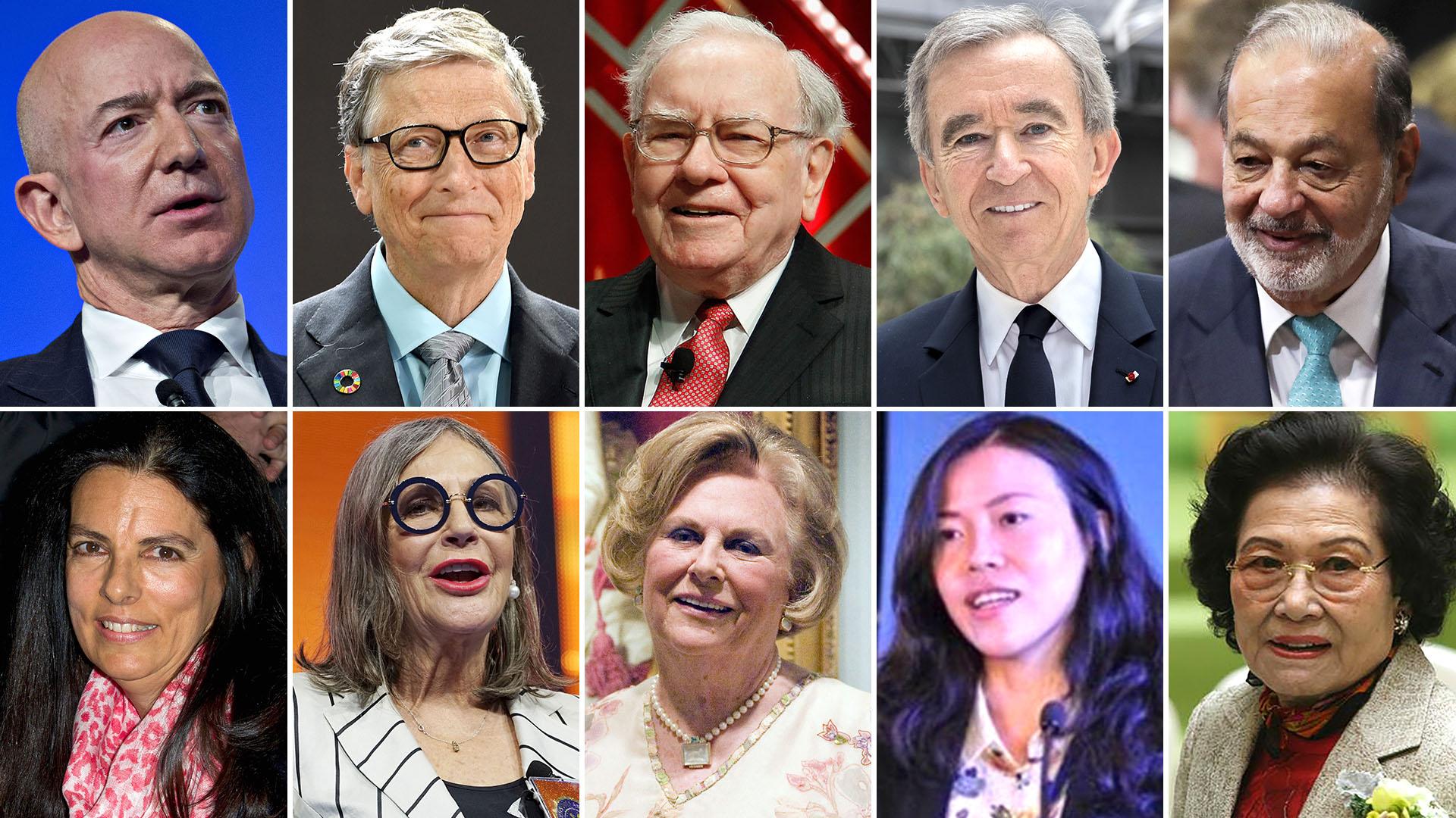 2ba098b39d98 Los 10 hombres más ricos del mundo tienen USD 530 millones más que ...