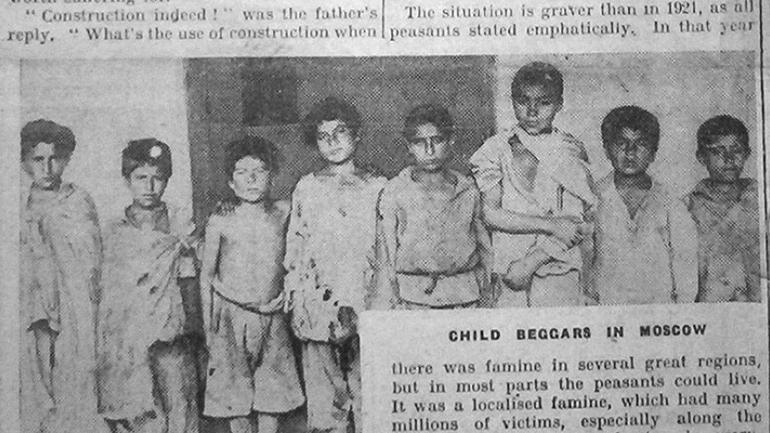 Muchas familias quedaron divididas por aquellos años