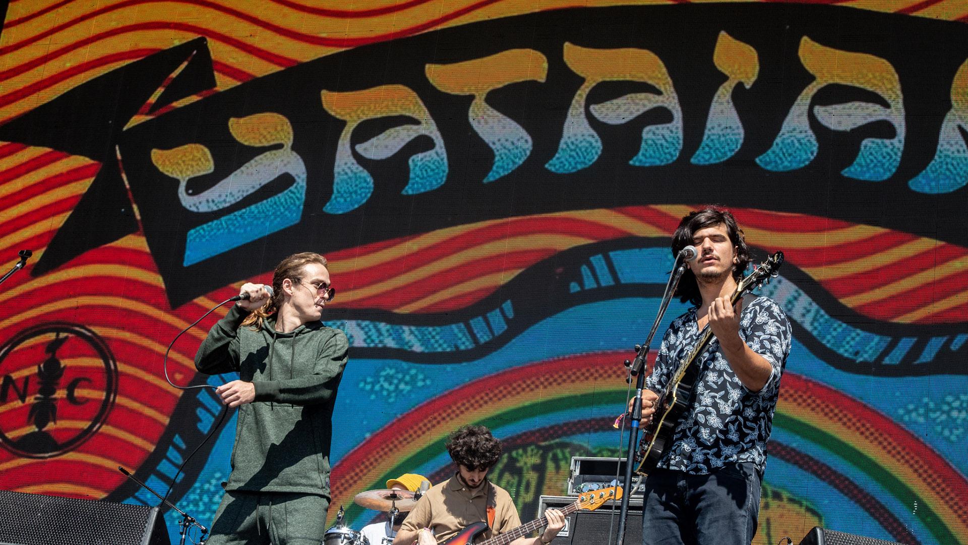 El reggae abrió la jornada: Yataians fue el primer grupo en salir al escenario