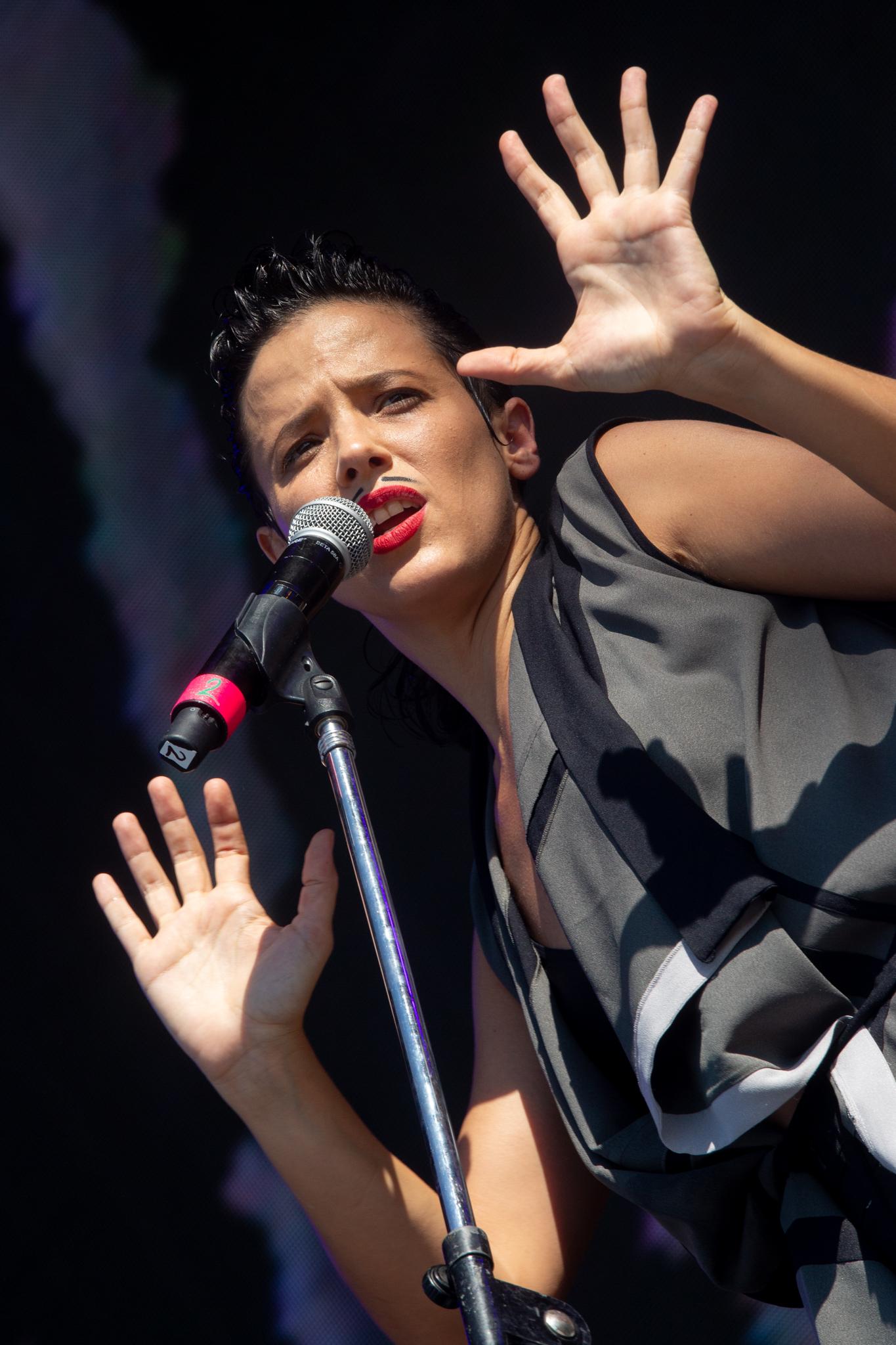 Perotá Chingó en el Lollapalooza 2019 (Foto: Lollapalooza)