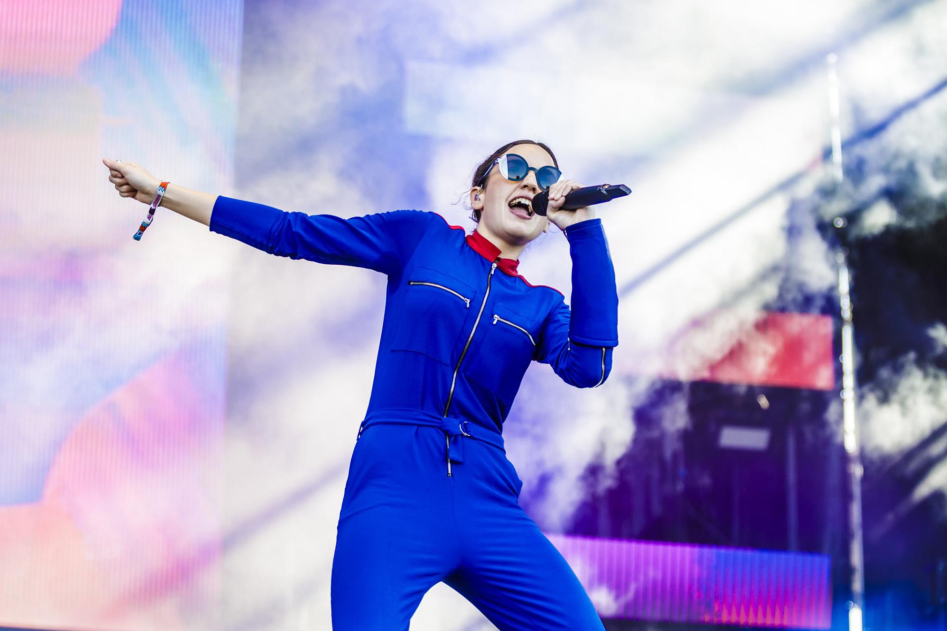 La cantante y compositora francesa (Prensa Lollapalooza)