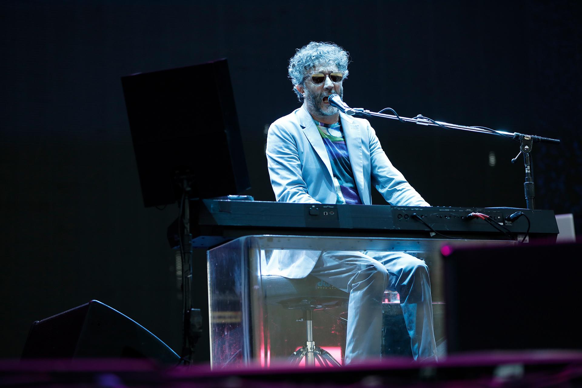 Fito Páez, en pleno show (Chule Valerga)
