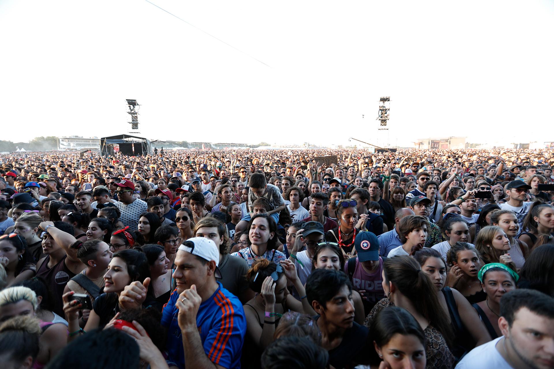 Los fans de Fito Páez (Chule Valerga)