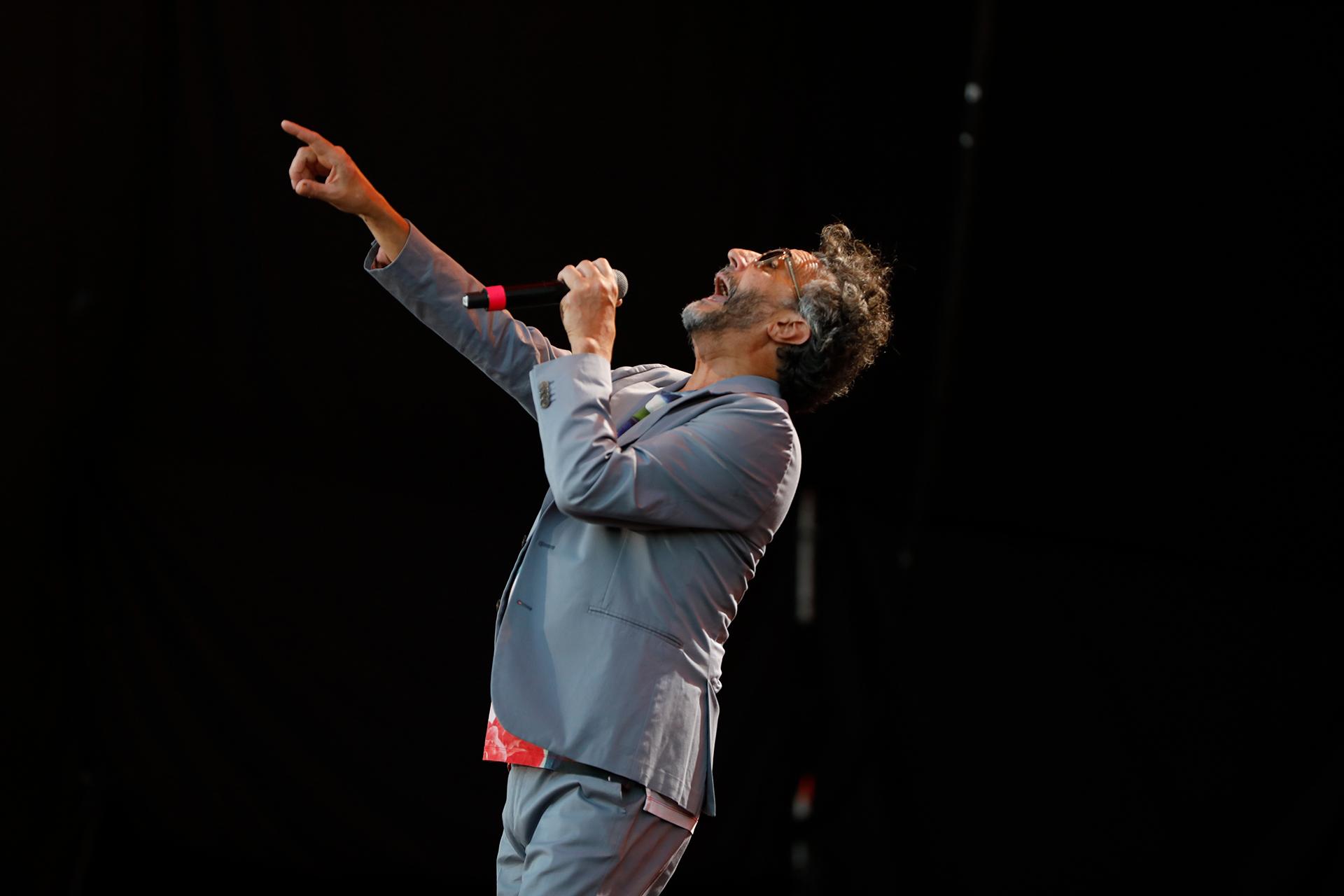 El cantante rosarino se presentó en el Lollpalooza Argentina 2019 (Chule Valerga)