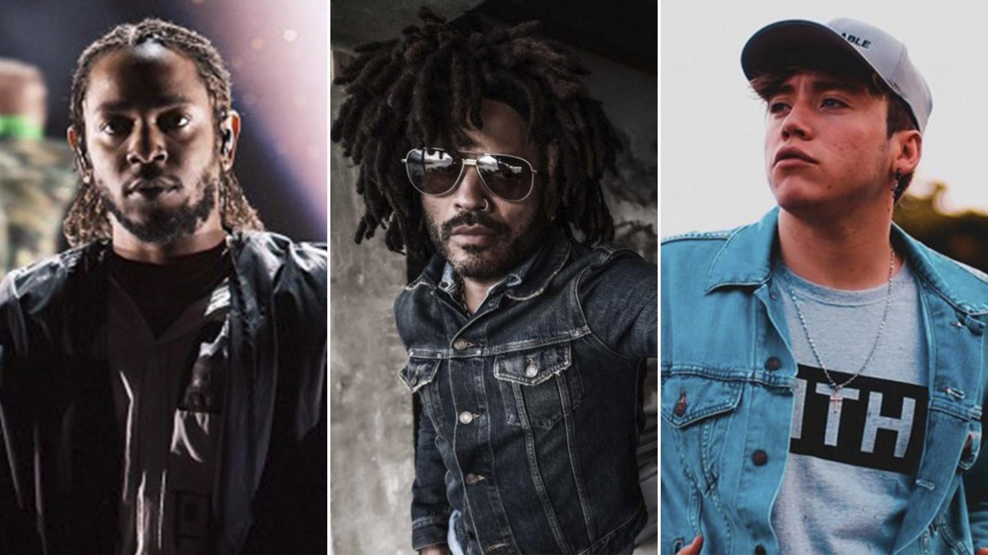 Kendrick Lamar Lenny Kravitz Y Paulo Londra Le Dan Cierre