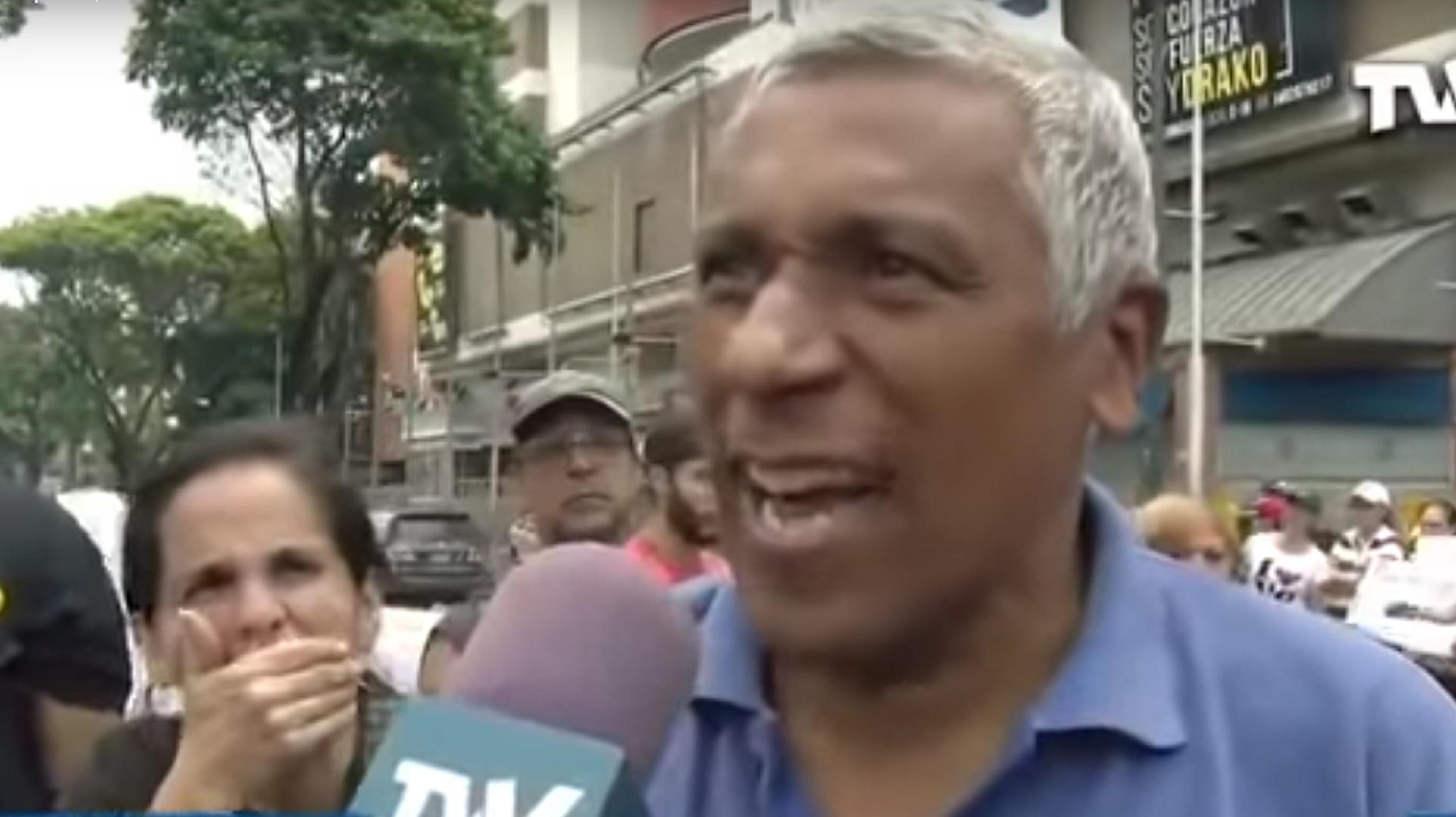Jesús Alberto Jaramillo acusó a la dictadura de Maduro por la muerte de su esposa