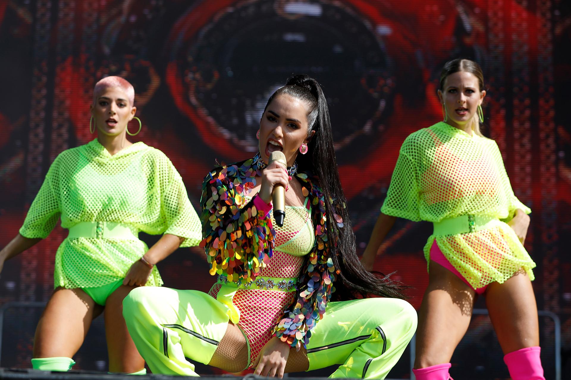 Lali Espósito brindó un show en el escenario Main Stage 2 (Chule Valerga)