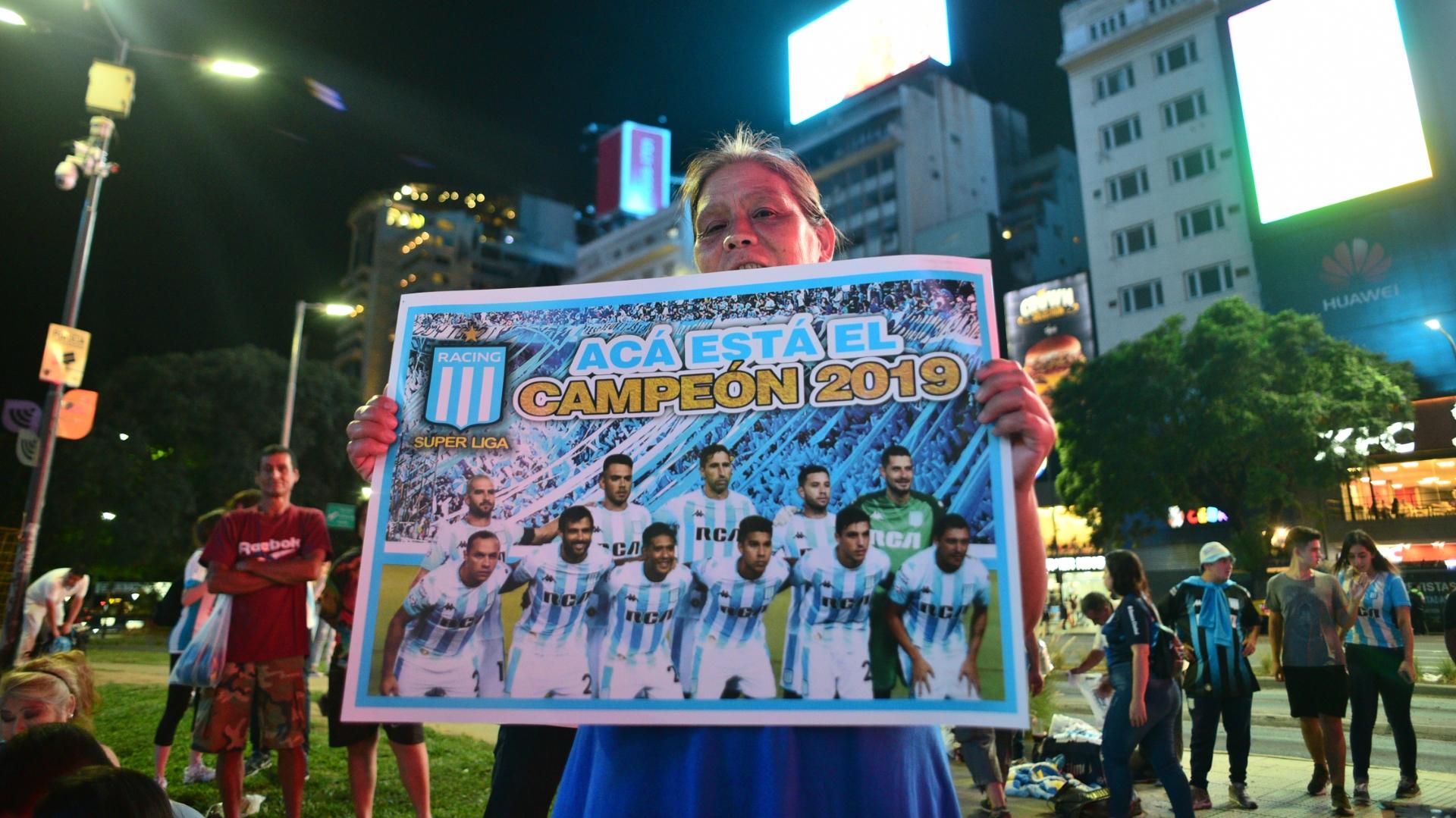 El póster del campeón