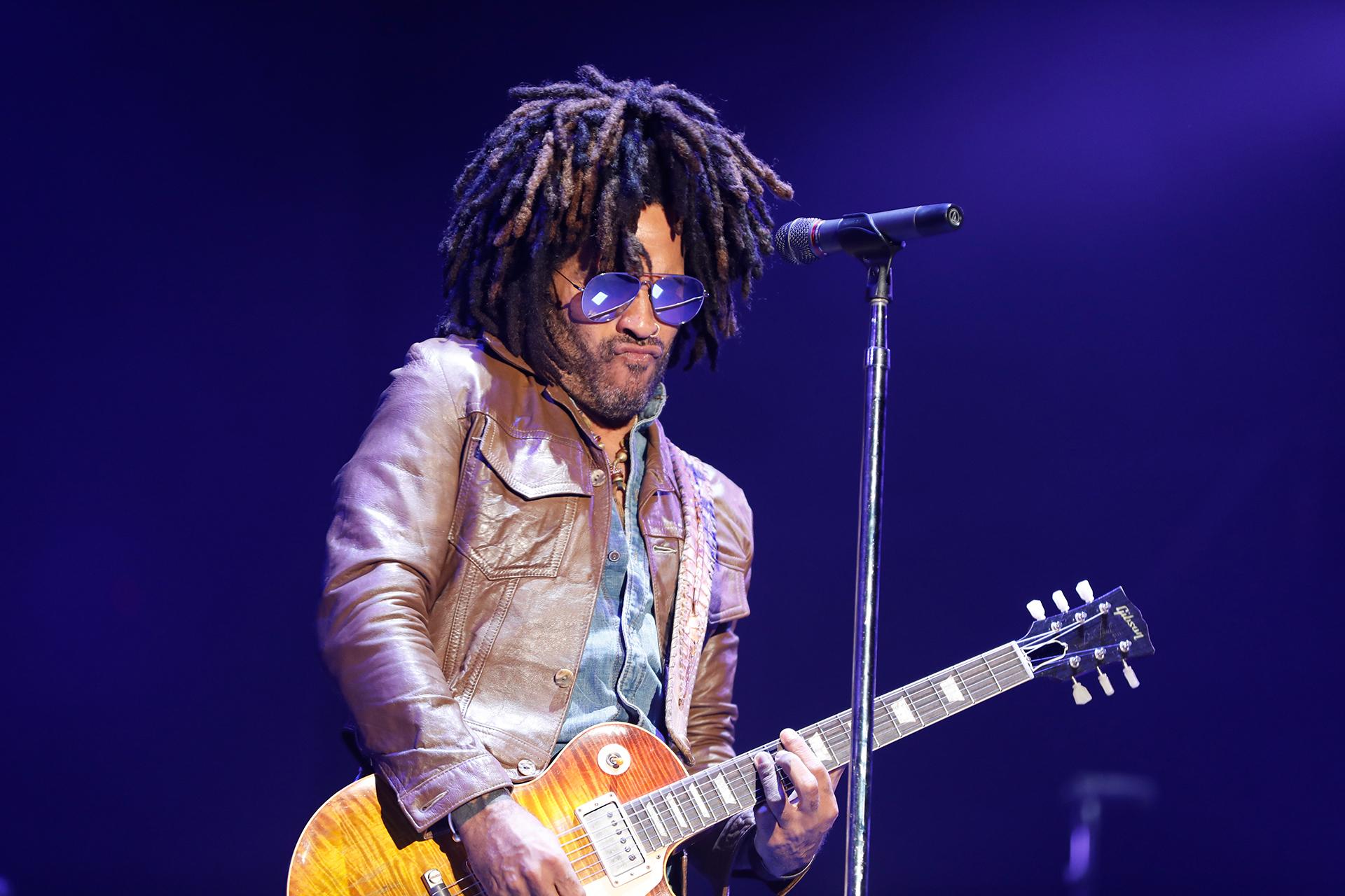 El músico norteamericano en el Lollapalooza (Chule Valerga)