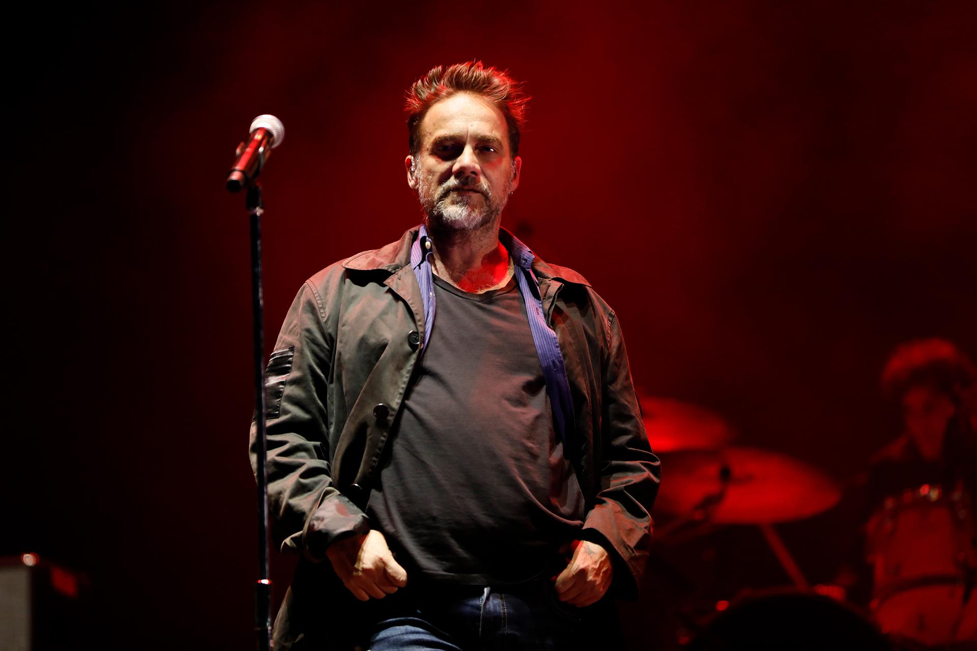 El público se juntó frente al Alternative Stage para ver al músico argentino (Chule Valerga)