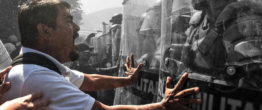 """Una imagen de """"Los días de Ayotzinapa"""" (Anima Films)"""