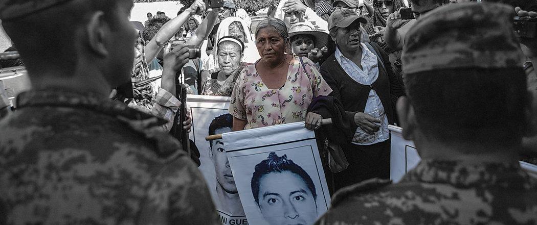 """Otra escena de """"Los días de Ayotzinapa"""" (Anima Films)"""
