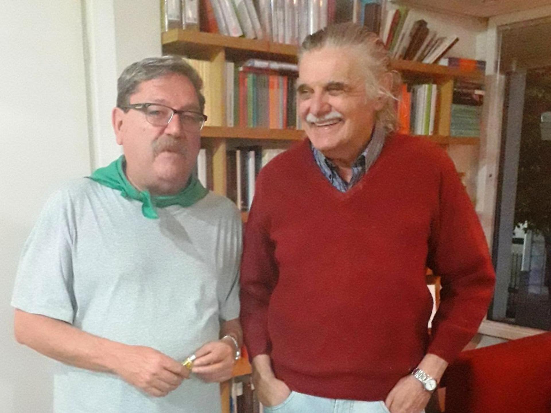 Paco Ignacio Taibo II y Horacio González