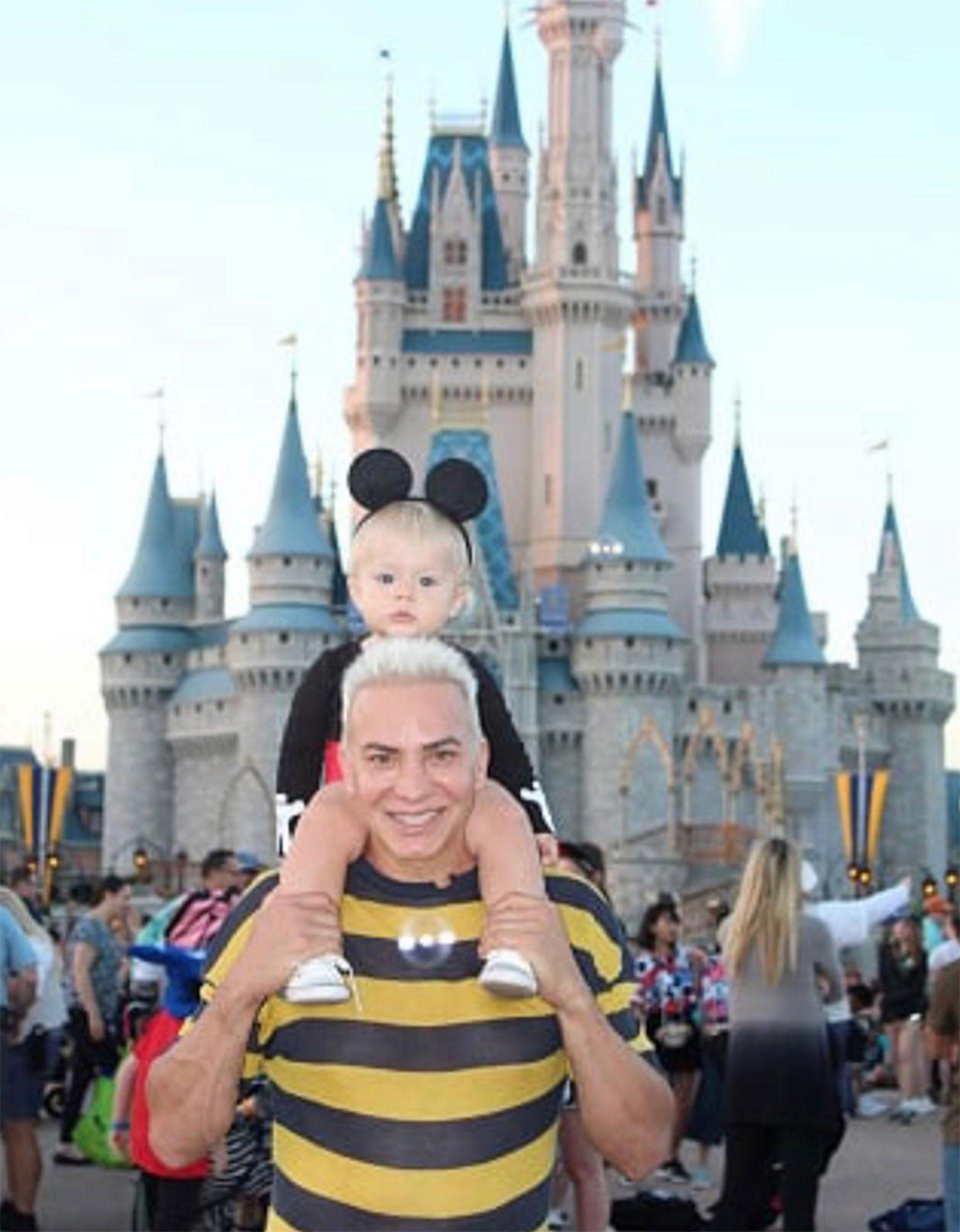 Padre e hijo en Disney