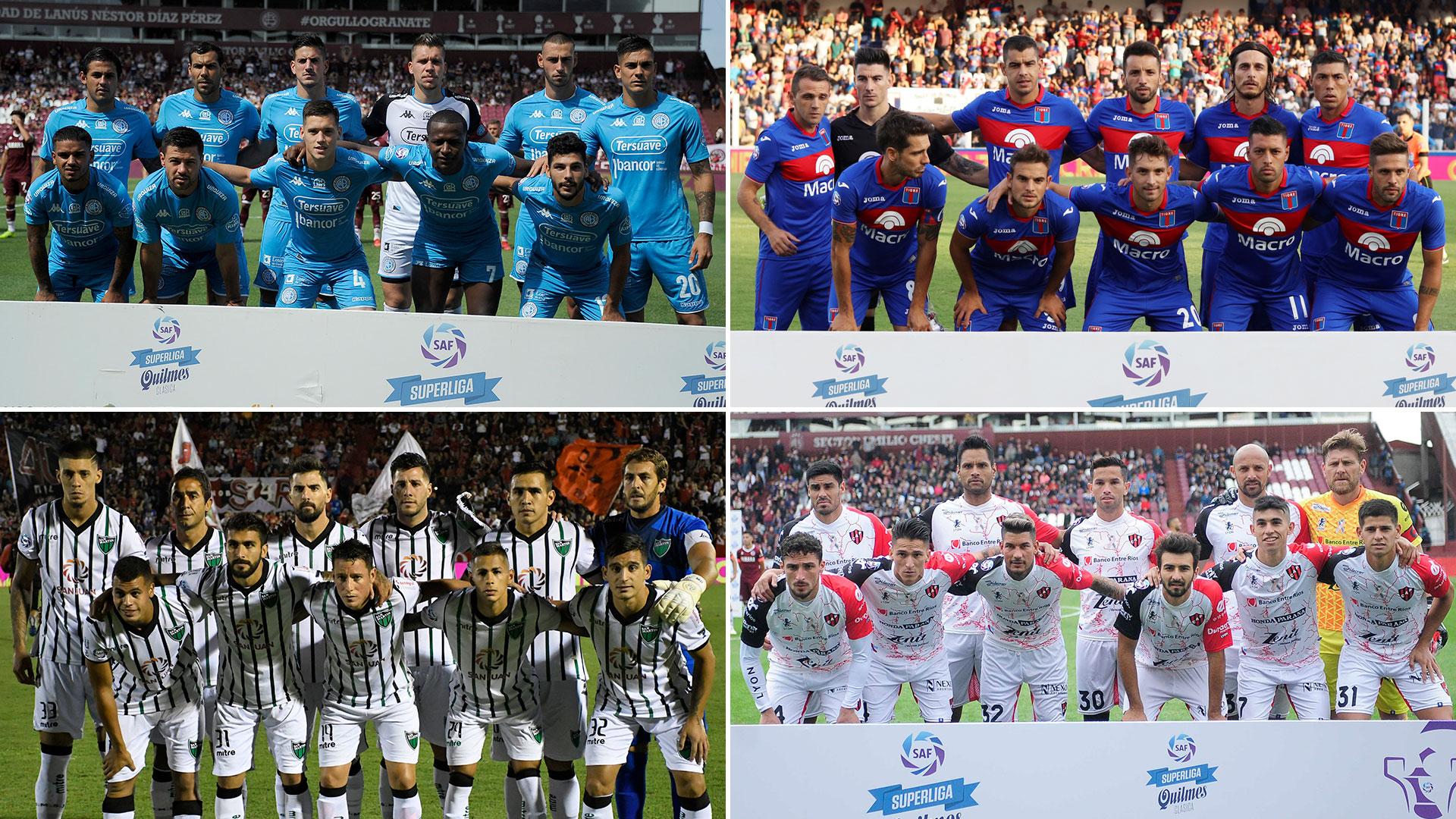 Belgrano, Tigre, San Martín de San Juan y Patronato protagonizaron la definición del descenso en el final de la temporada 2018/2019