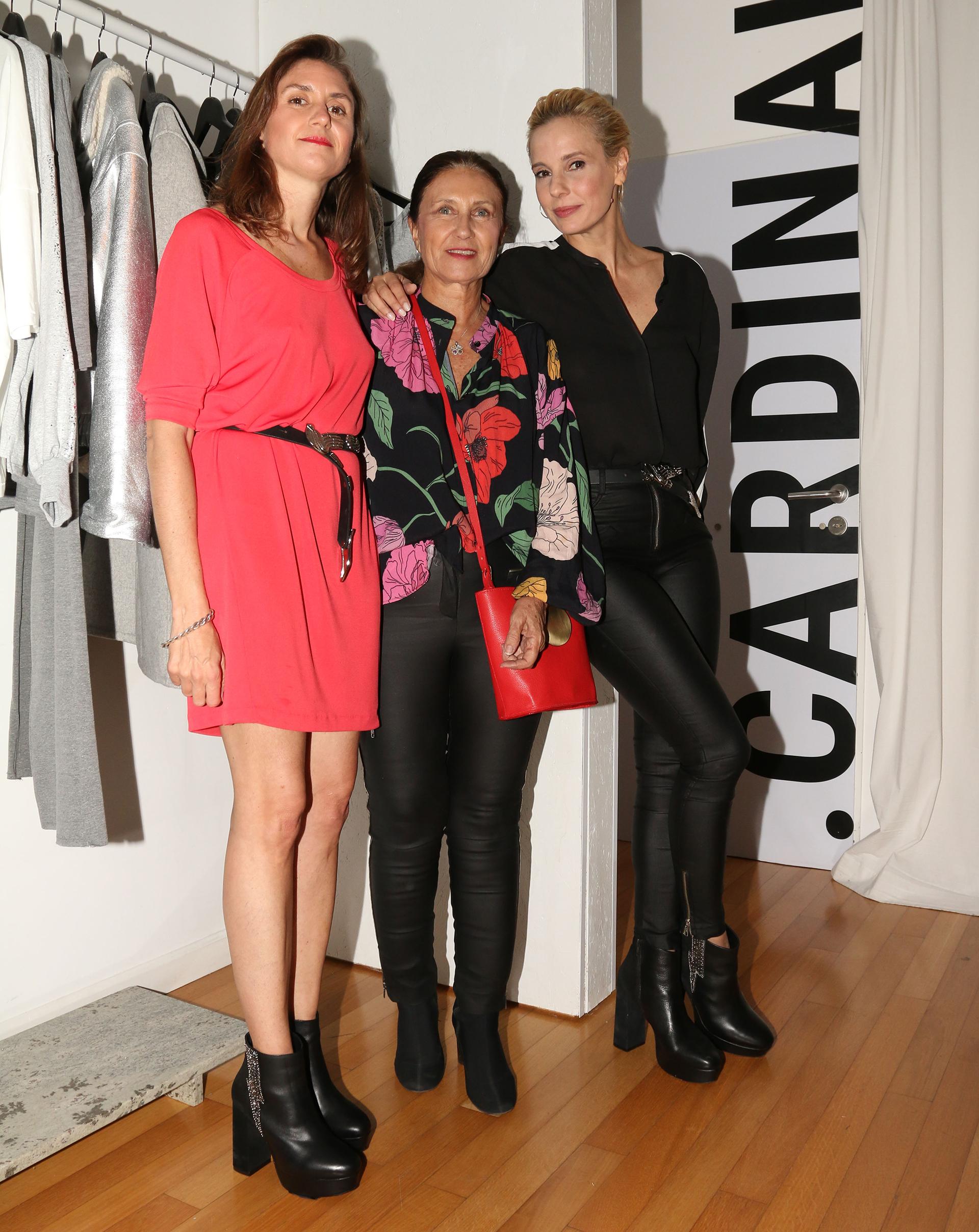 Abril Bellati, Clara Ibarguren y Julieta Cardinali