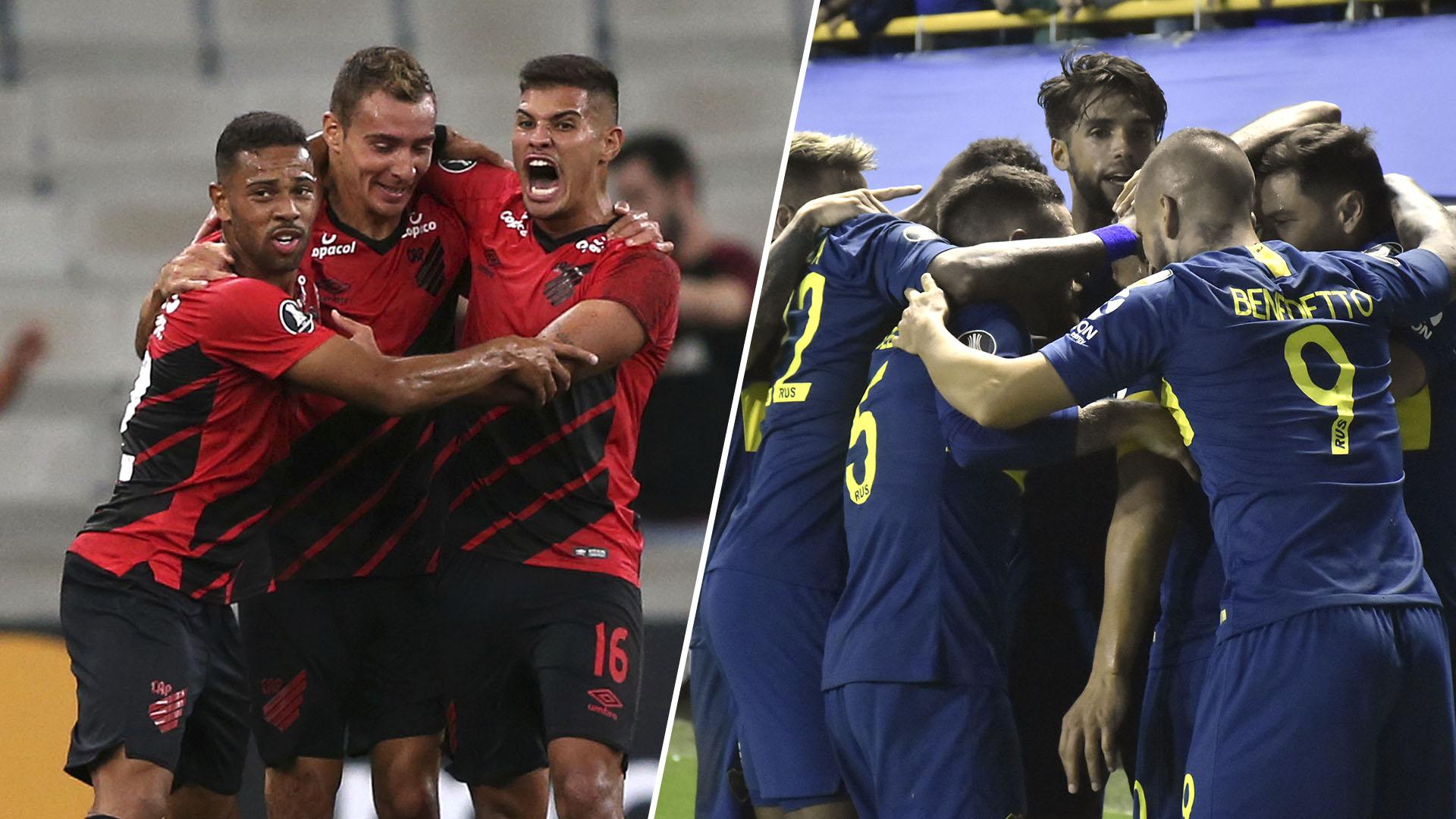 Boca buscará mantener el liderazgo del Grupo G de la Copa Libertadores cuando visite al Atlético Paranaense