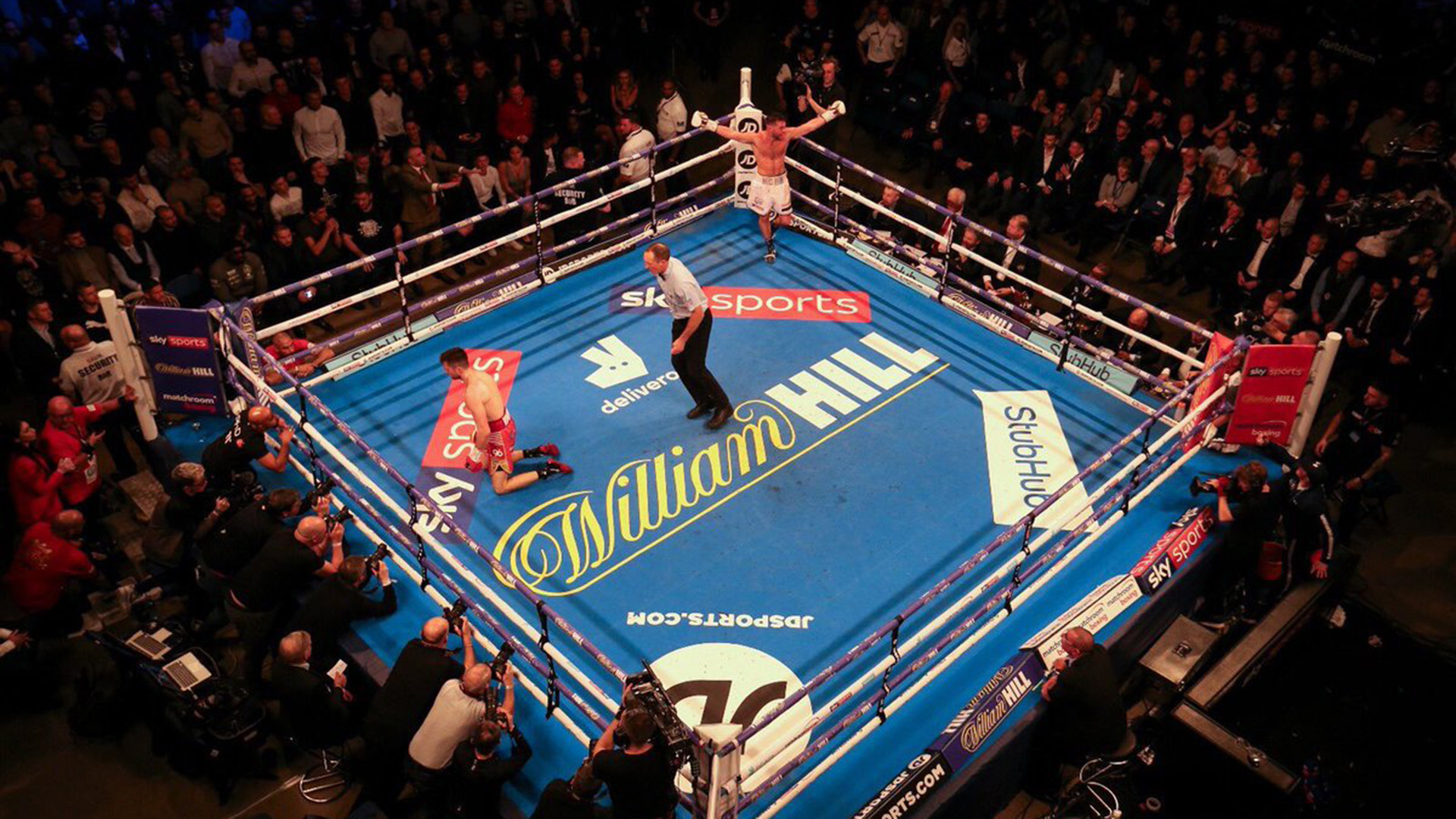 Scott Fitzgerald logró el cinturón en la categoría superwelter del Campeonato Internacional WBA de(Twitter: @Scottfitz91)