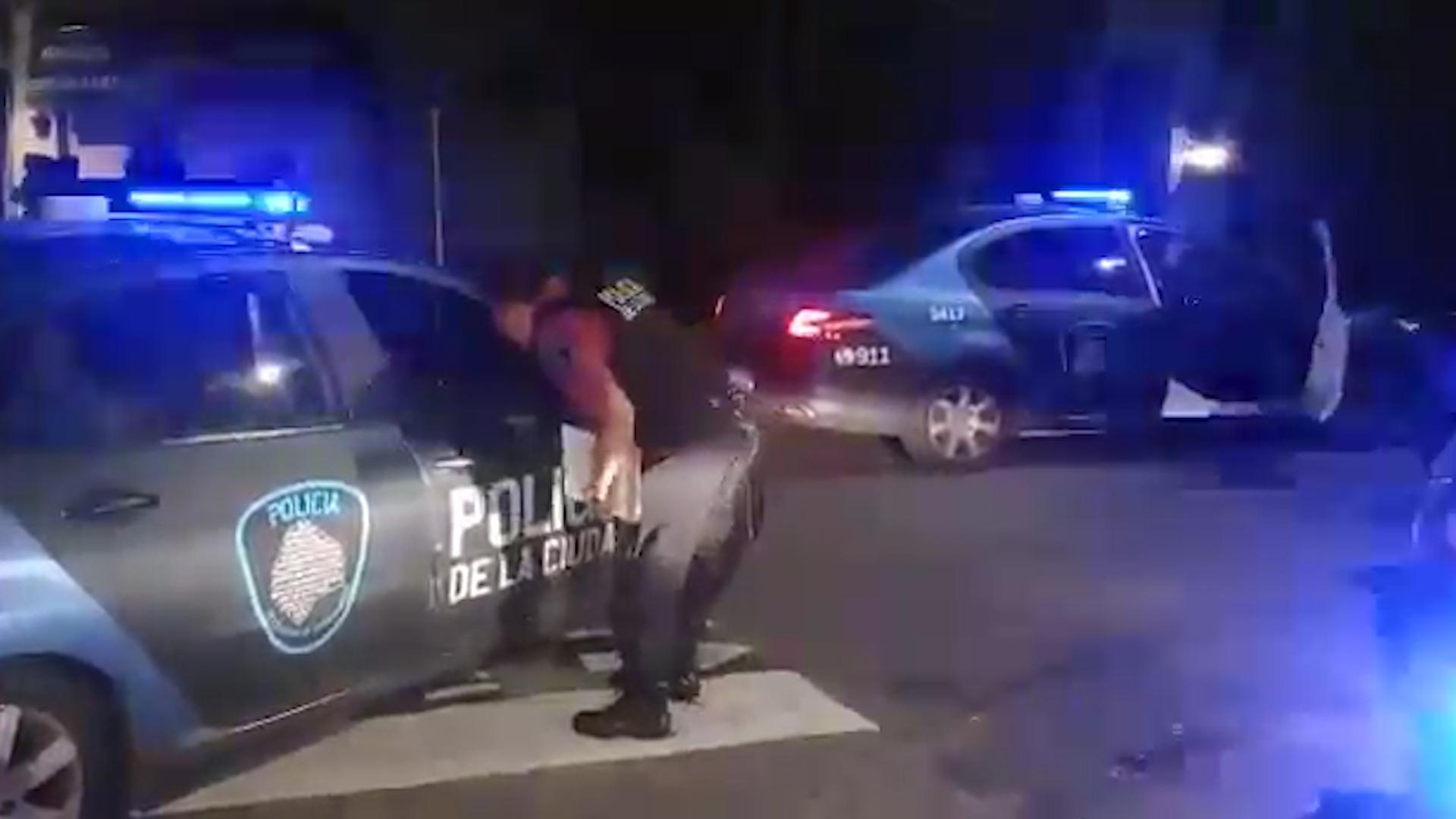 Las detenciones fueron concretadas por efectivos de la Ciudad