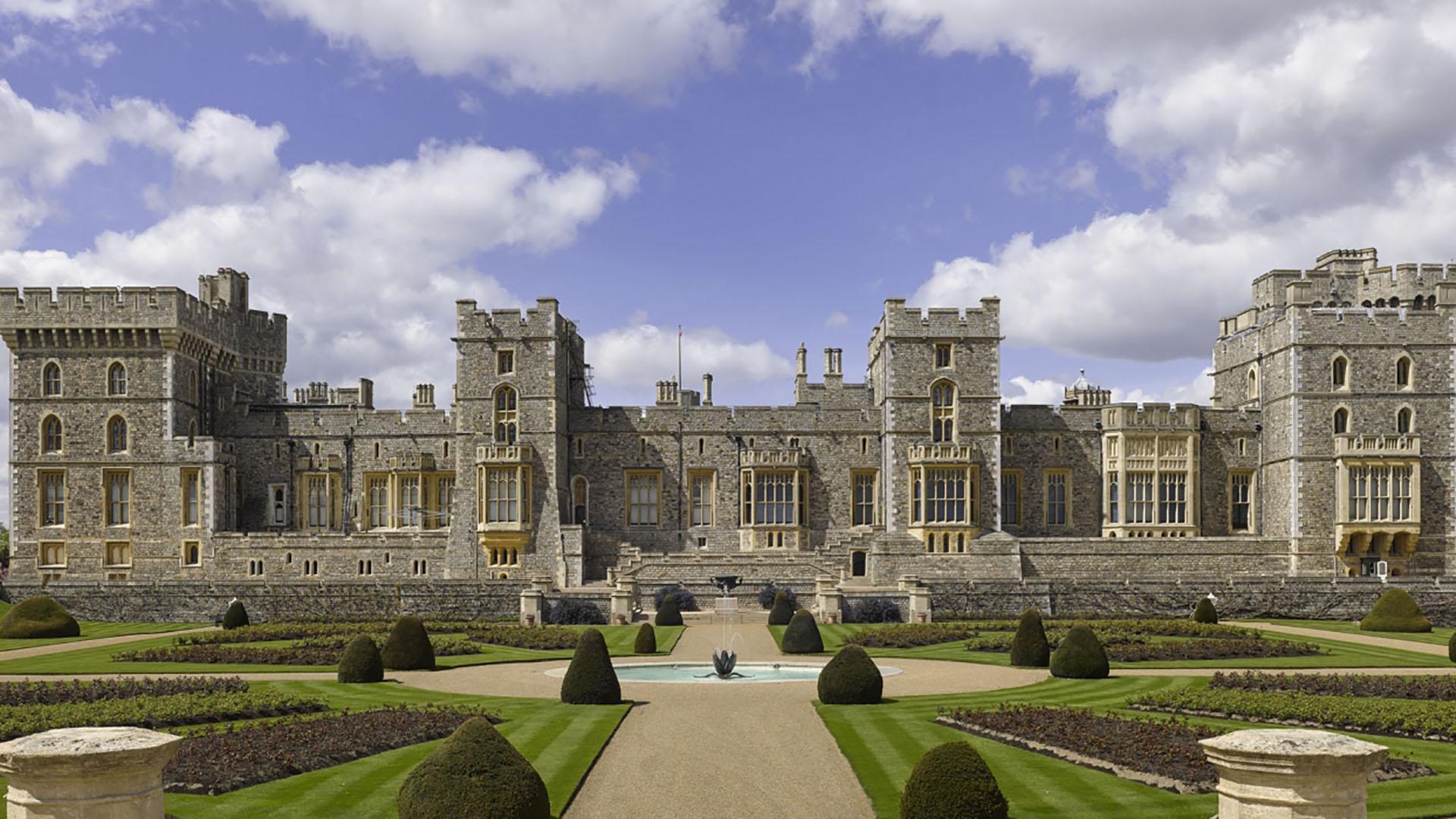 En Windsor celebraron su recepción de casamiento Meghan Markle y el príncipe Harry
