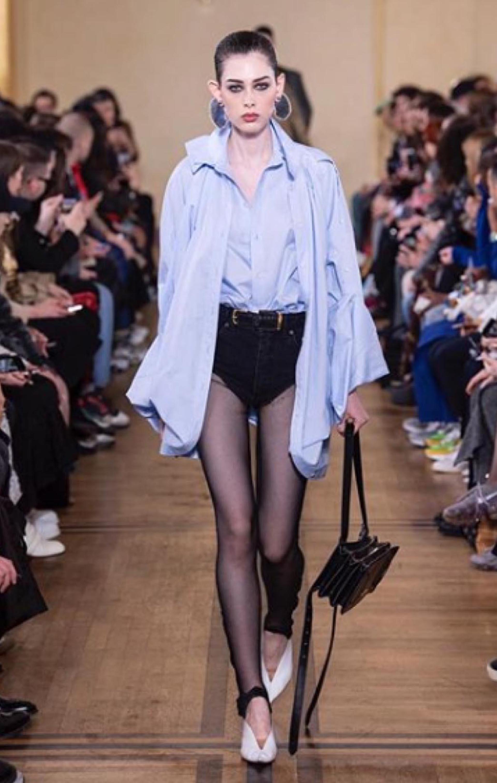 El microshort ya caminó la pasarela en la semana de la moda de París.