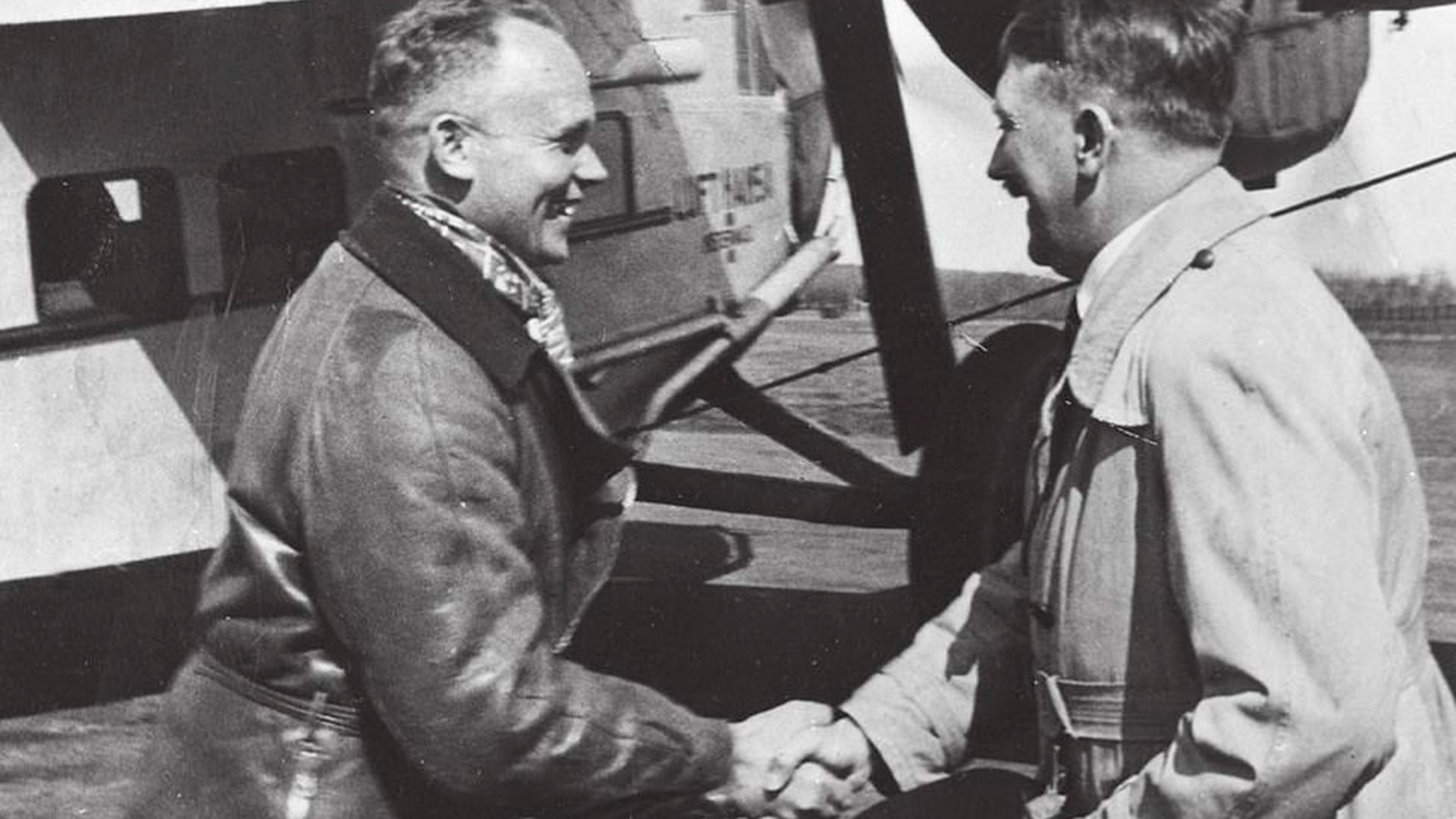 El piloto dejó escritas las últimas palabras de Hitler en un diario