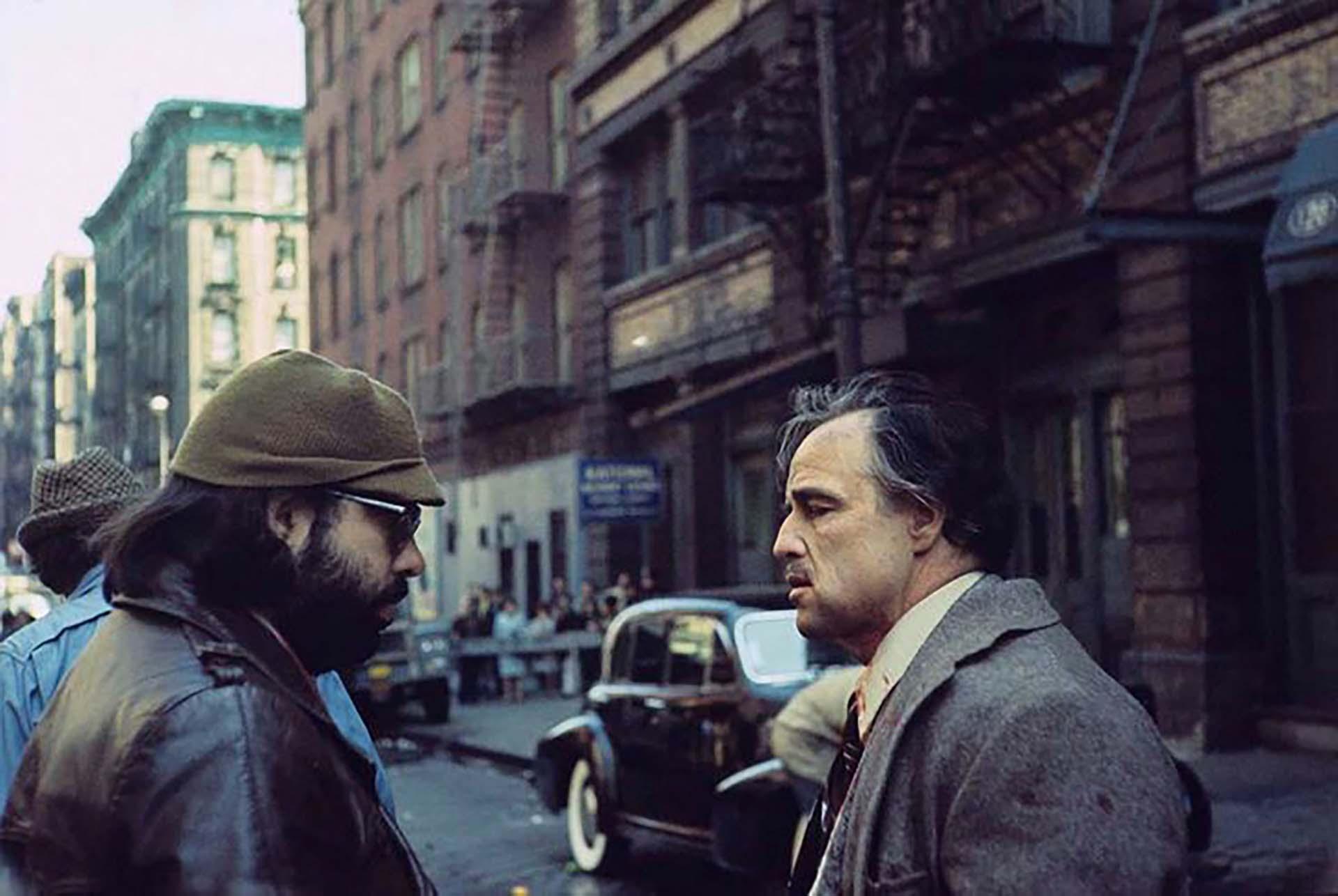 Marlon Brando consiguió el rol gracias al cineasta. En el estudio Paramount querían que Vito Corleone sea Laurence Olivier, pero Coppola convenció a todos para que él sea el protagonista de la película