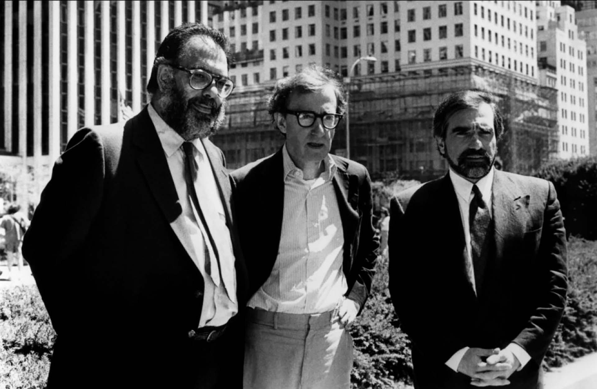 Martin Scorsese, Francis Ford Coppola, y Wo, COPPOLA Y WOODY ALLEN JUNTOS EN HISTORIAS DE NUEVA YORK
