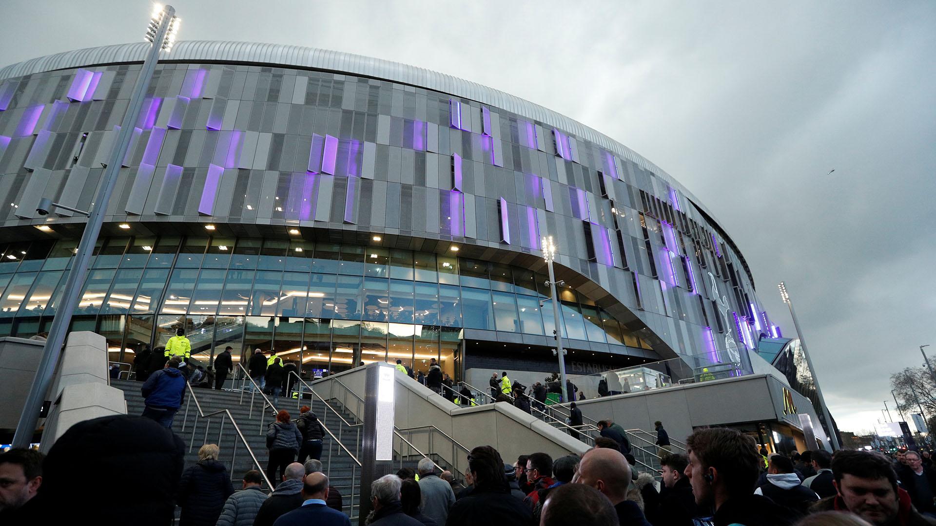 La nueva casa del equipo inglés fue bautizada como Tottenham Hotspor Stadium