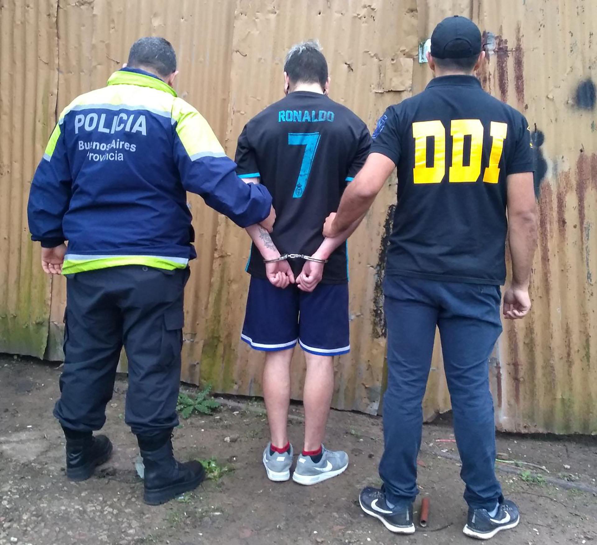 El presunto fue detenido durante la tarde del miércoles