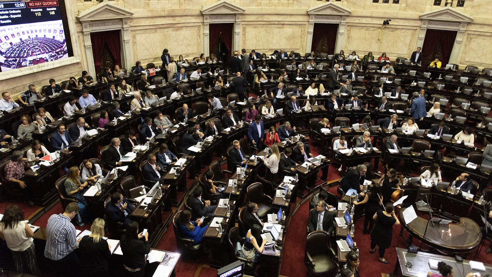 El Gobierno busca aprobar la ley de financiamiento en Diputados (Adrián Escandar)
