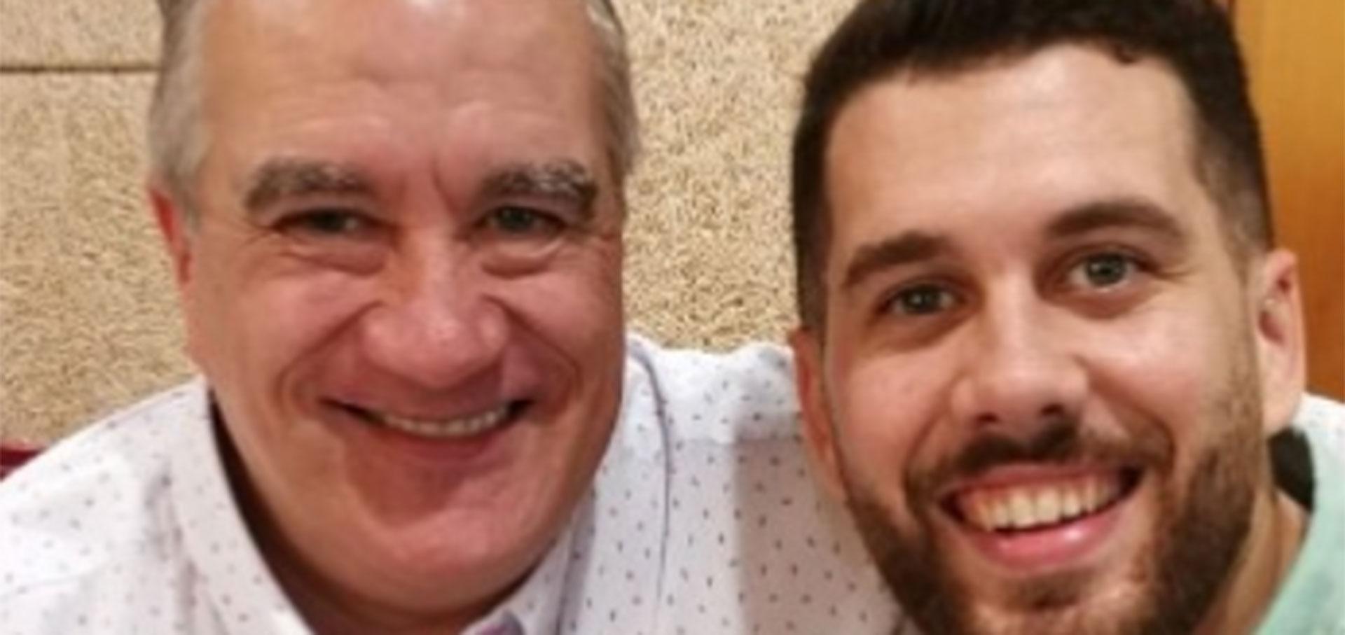 Jordi Pascual Jalón y su padre desempleado