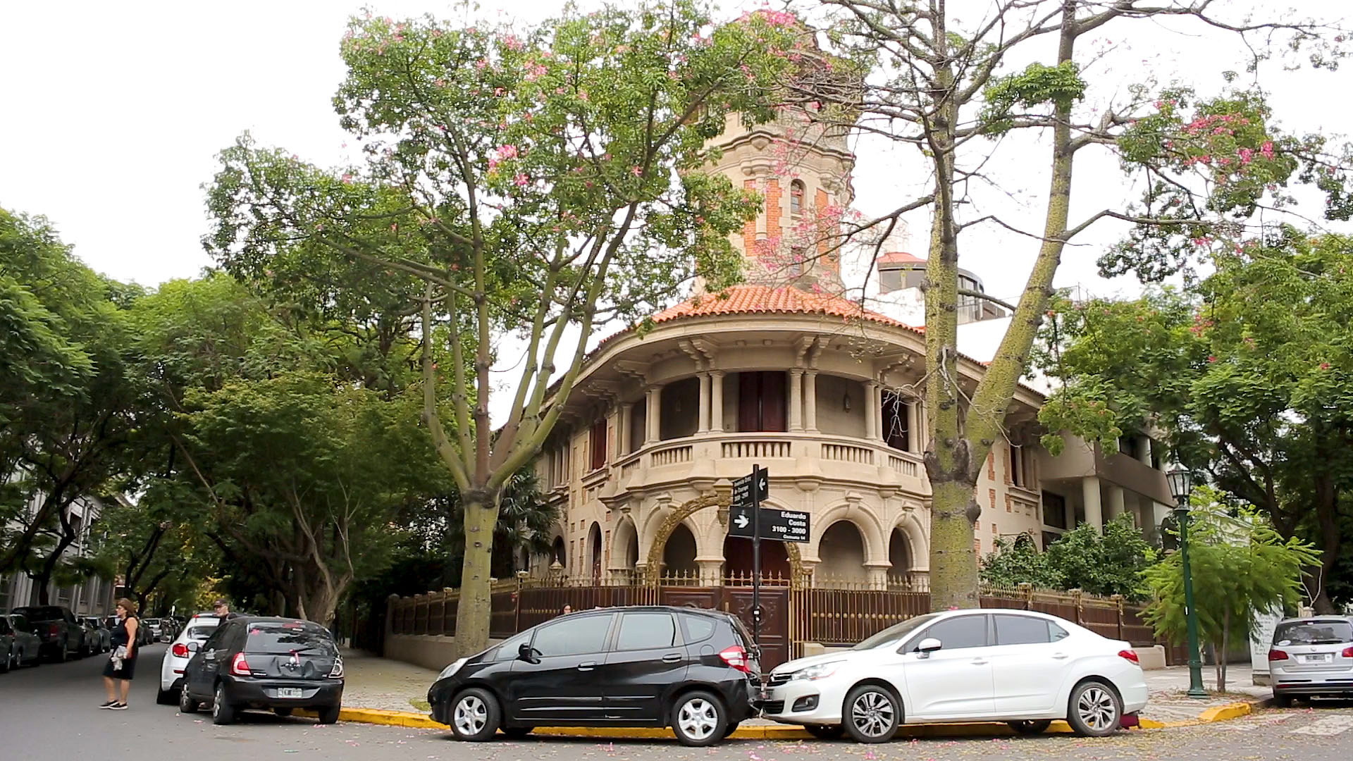 Resultado de imagen para replica del Palacio Barolo en Barrio parque