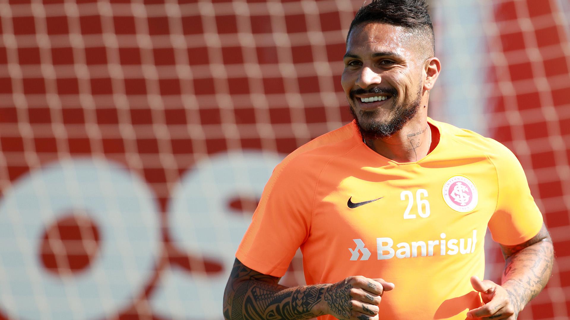 Paolo Guerreroha podido entrenarse en el Inter dePorto Alegre a partir de esta semana (Reuters)