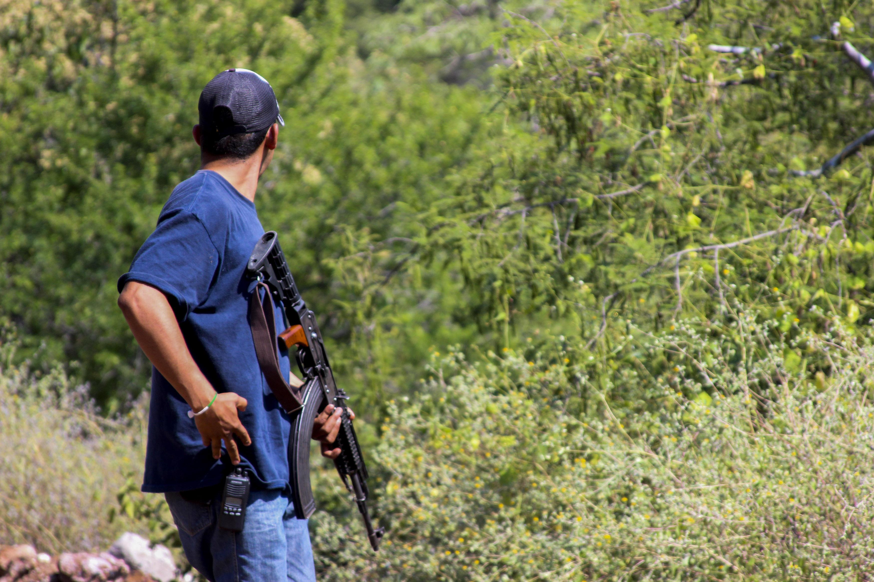 En Guerrero, la violencia y el abandono de las autoridades, ha orillado a los pobladores a formar autodefensas (Foto: Cuartoscuro)