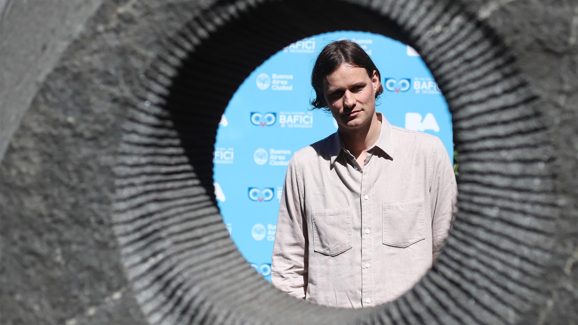 Max Linz, director de Music and Apocalypse (Matías Baglietto)