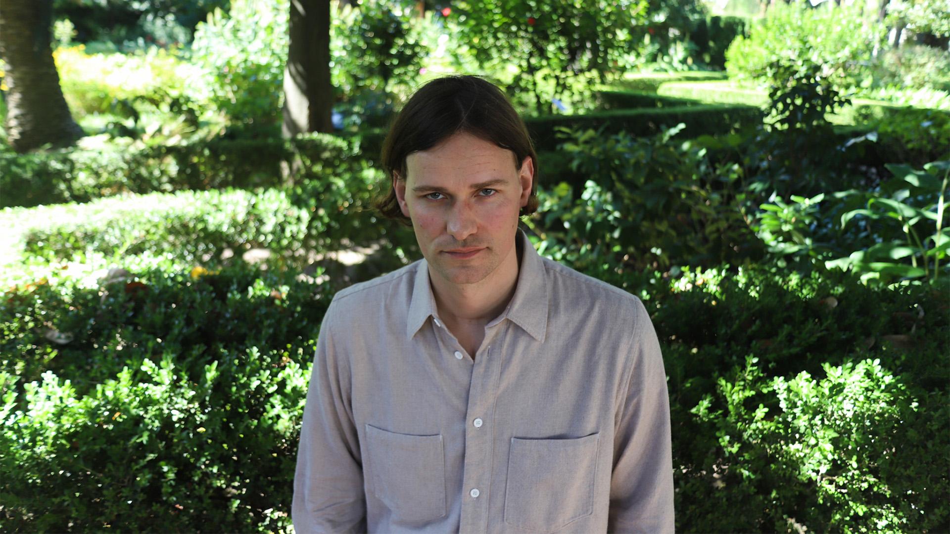 El director de cine alemán Max Linz (Matías Baglietto)