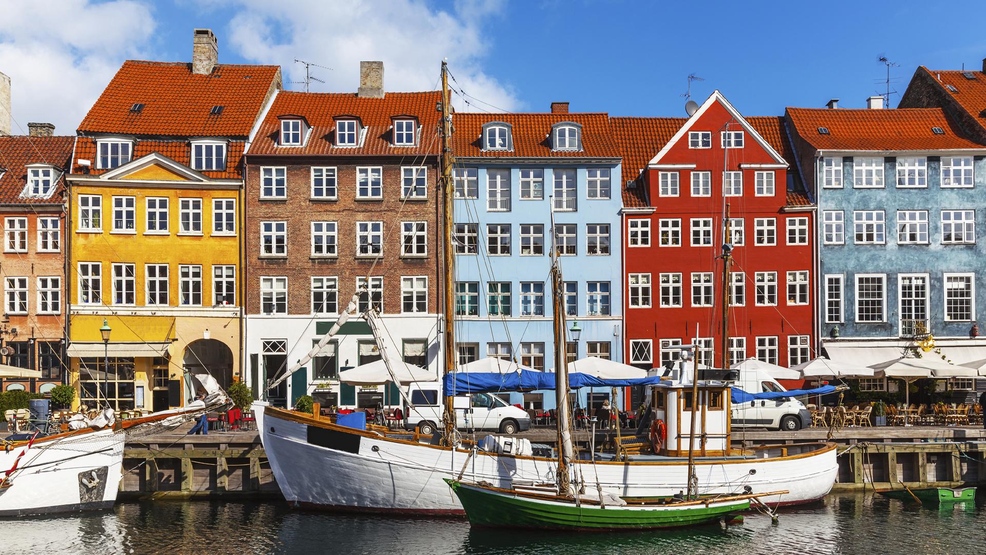 Nyhavn, en Copenhague