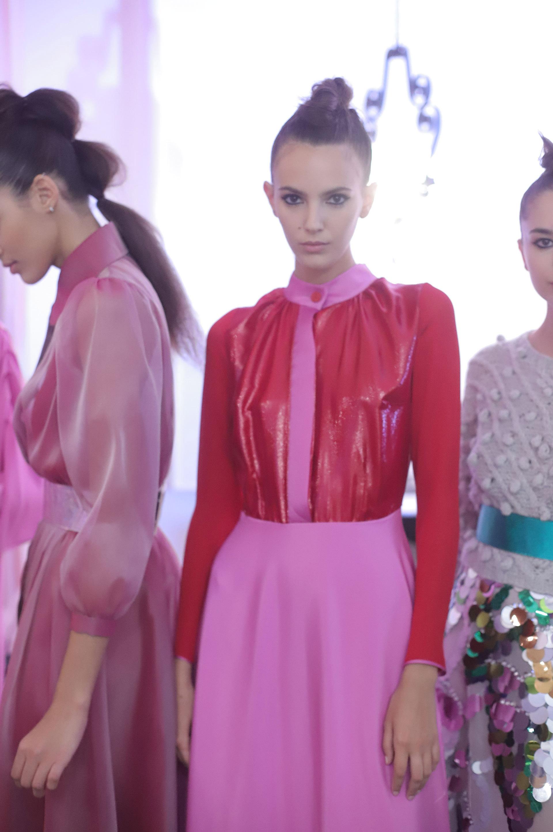 El diseñador argentino Fabián Zitta incluye esta combinación de colores en su nueva colección.